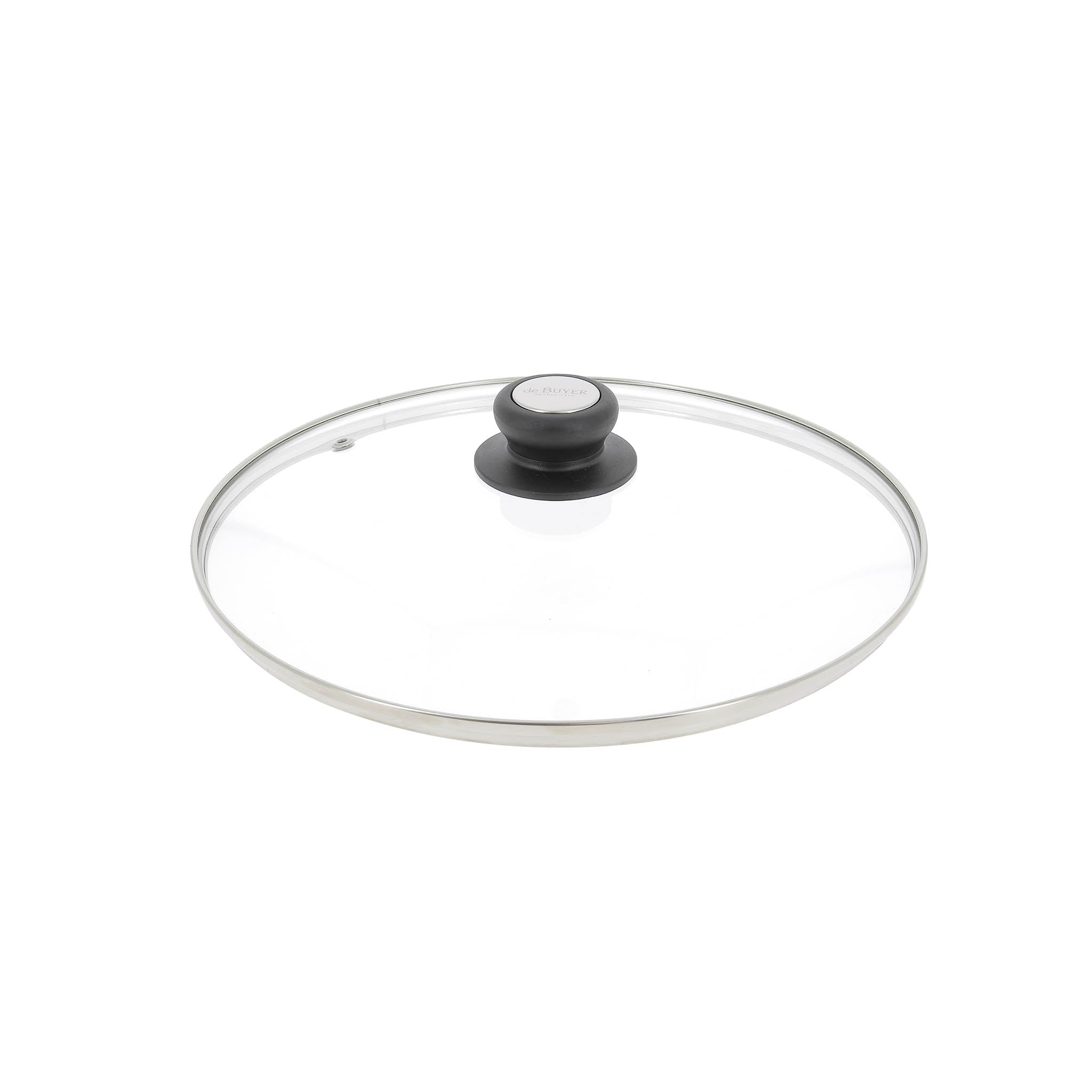 De Buyer Glass Saucepan Lid