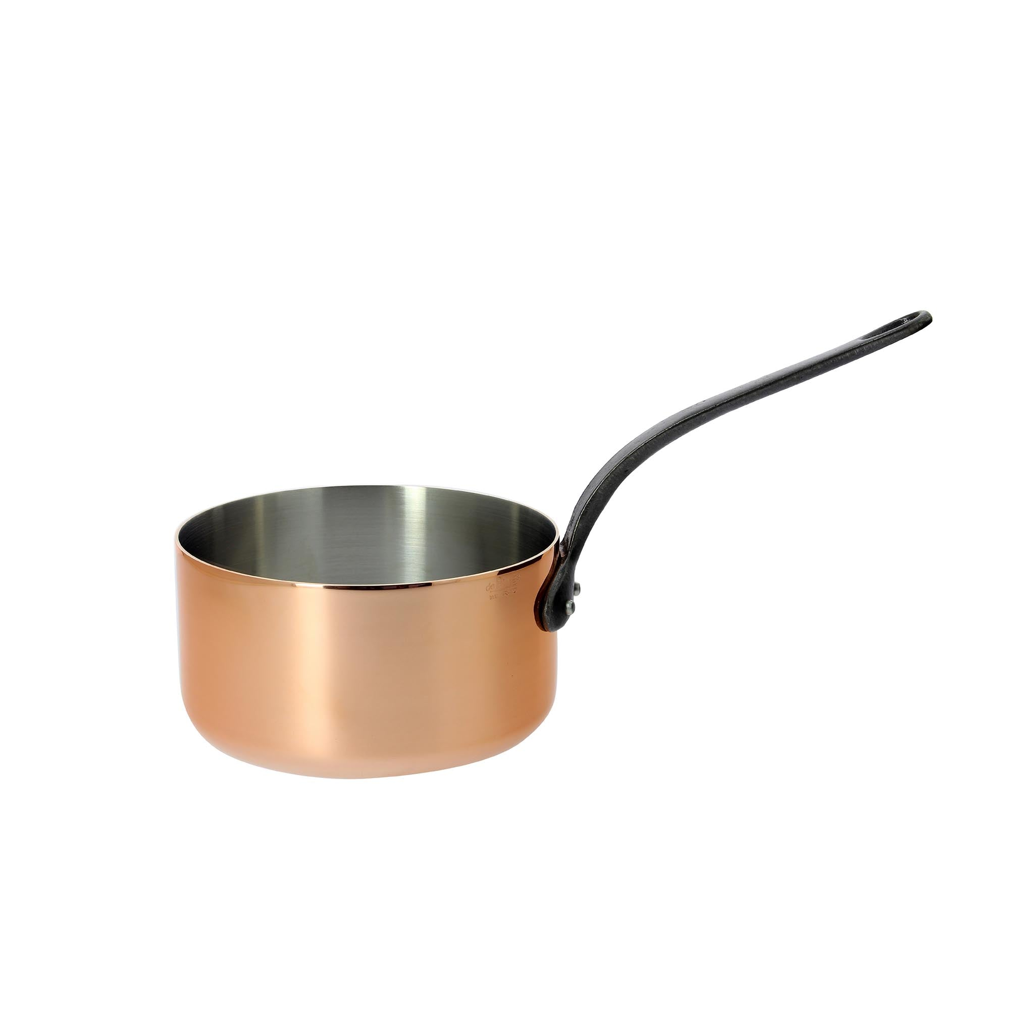 De Buyer Prima Matera Induction-Compatible Copper Saucepan