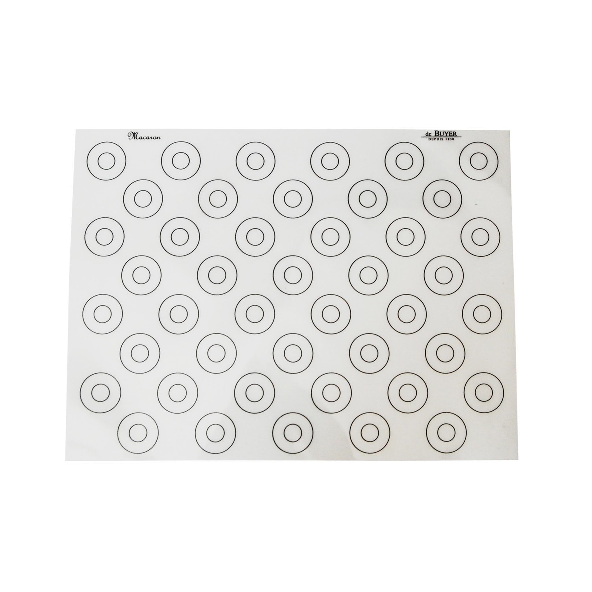 De Buyer Non-Stick Macaron Stencil Baking Mat Cookware Kitchen Utensils French Food