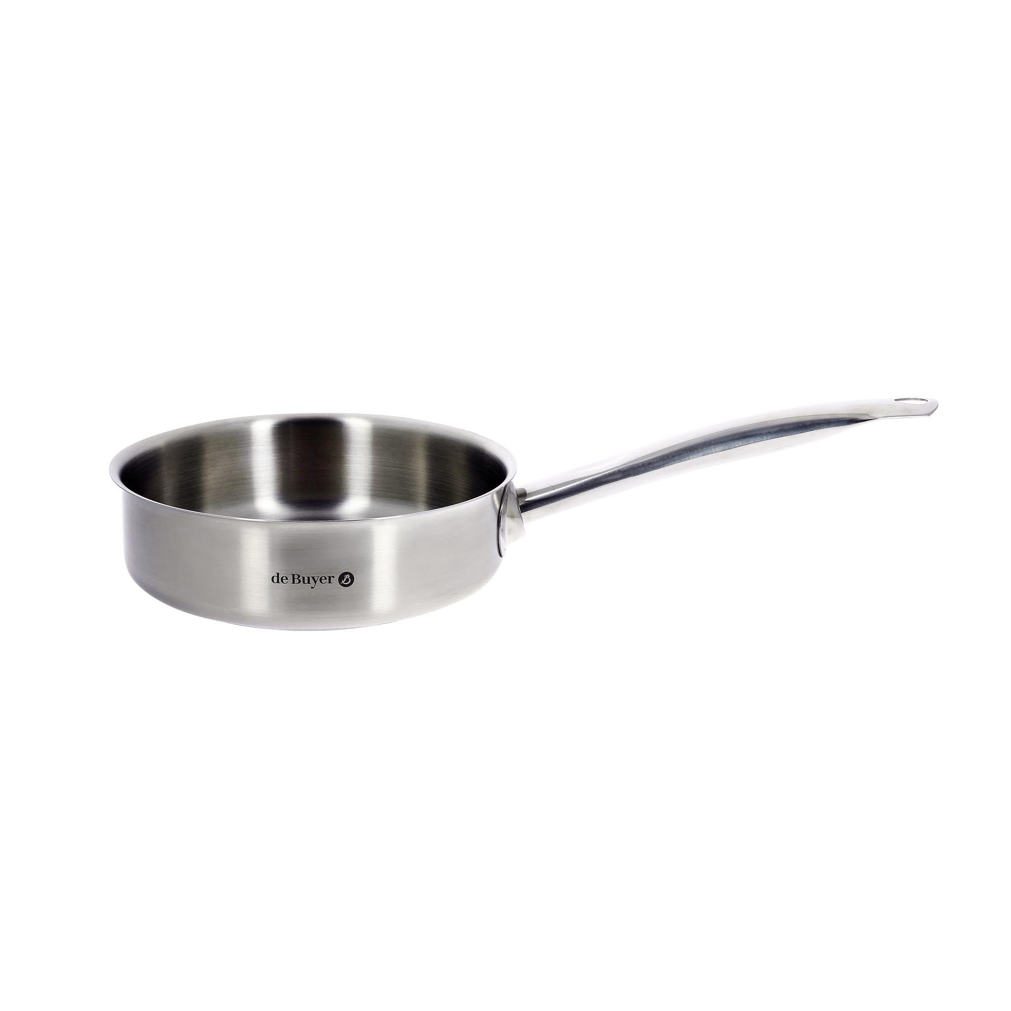 De Buyer Prim Appety Stainless Steel Saute Pan 28cm Cookware Pots & Pans French Food