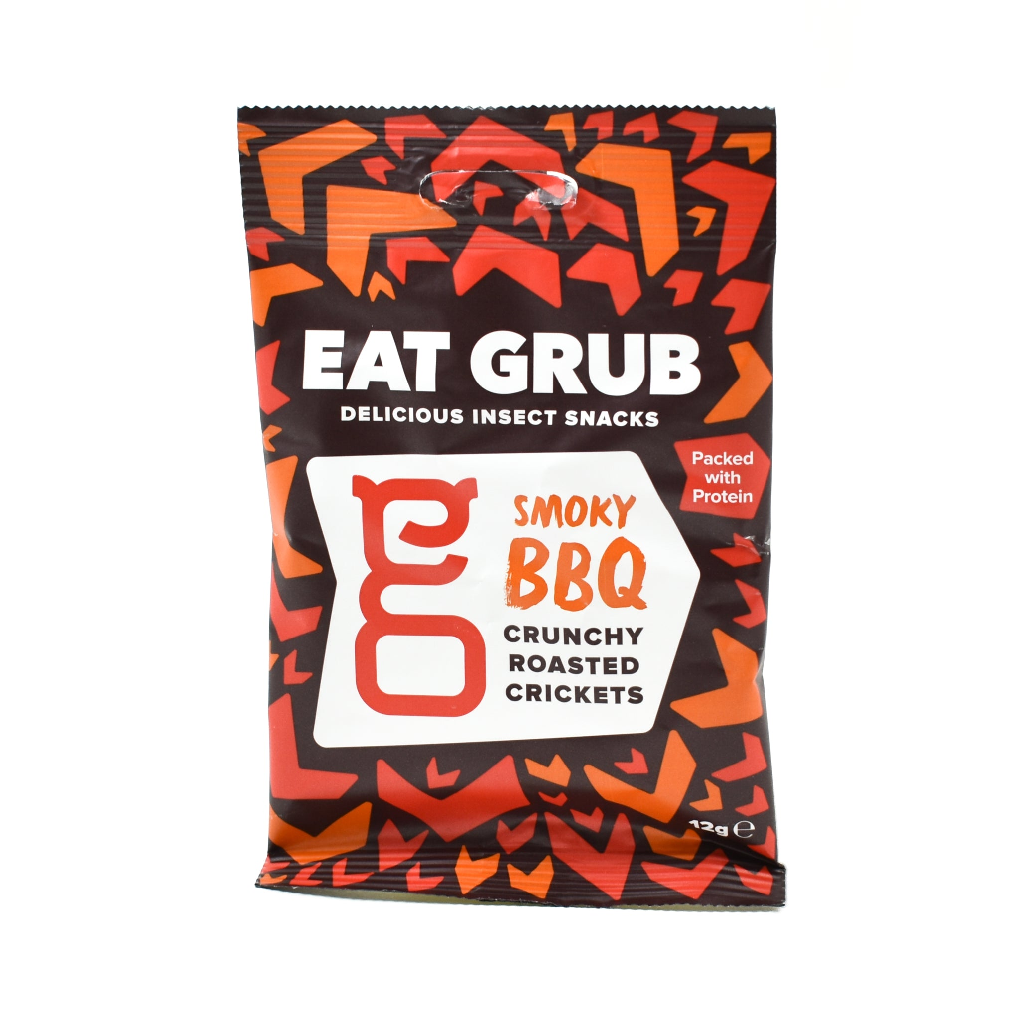 Eat Grub Smoky BBQ Crunchy Roasted Crickets 12g Ingredients Savoury Snacks & Crackers