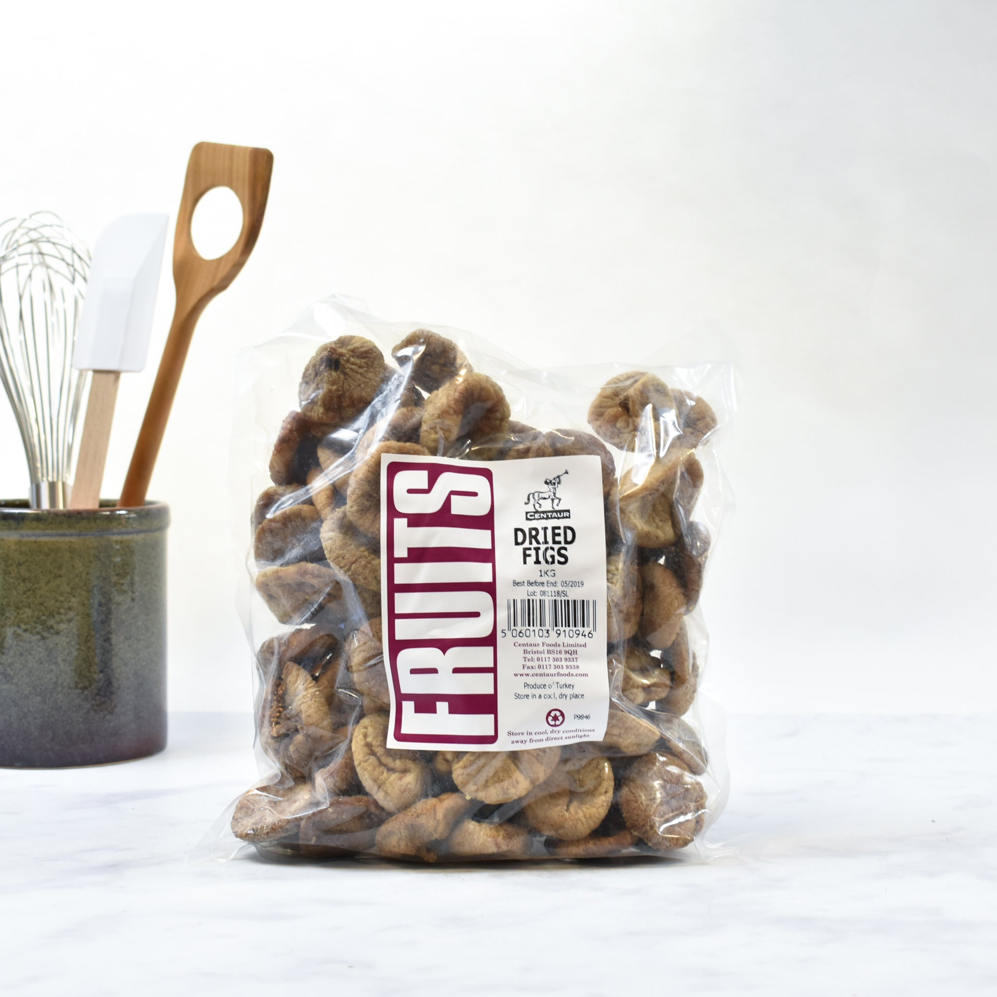 Dried Figs 1kg lifestyle photograph