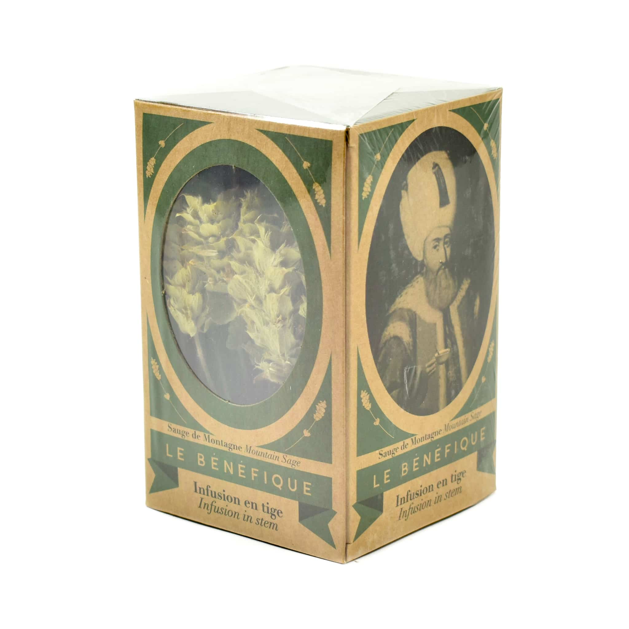 Le Benefique Organic Wild Sage Herbal Tea Stems