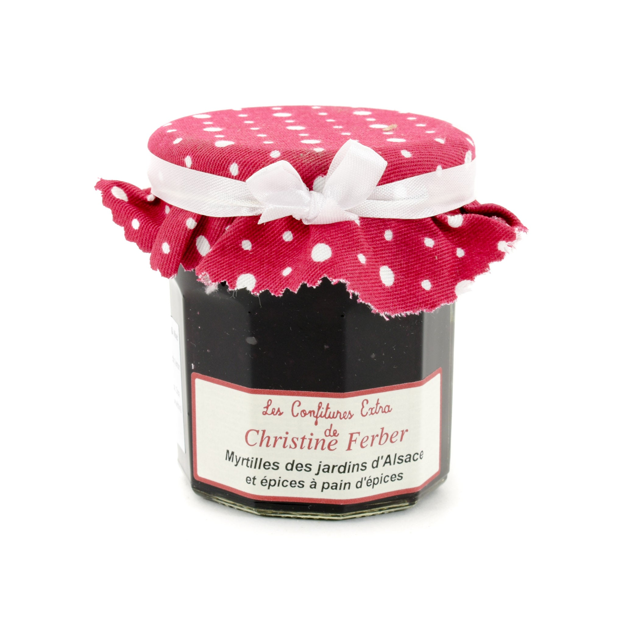 Christine Ferber Alsace Blueberry & Mixed Spice Jam 220g