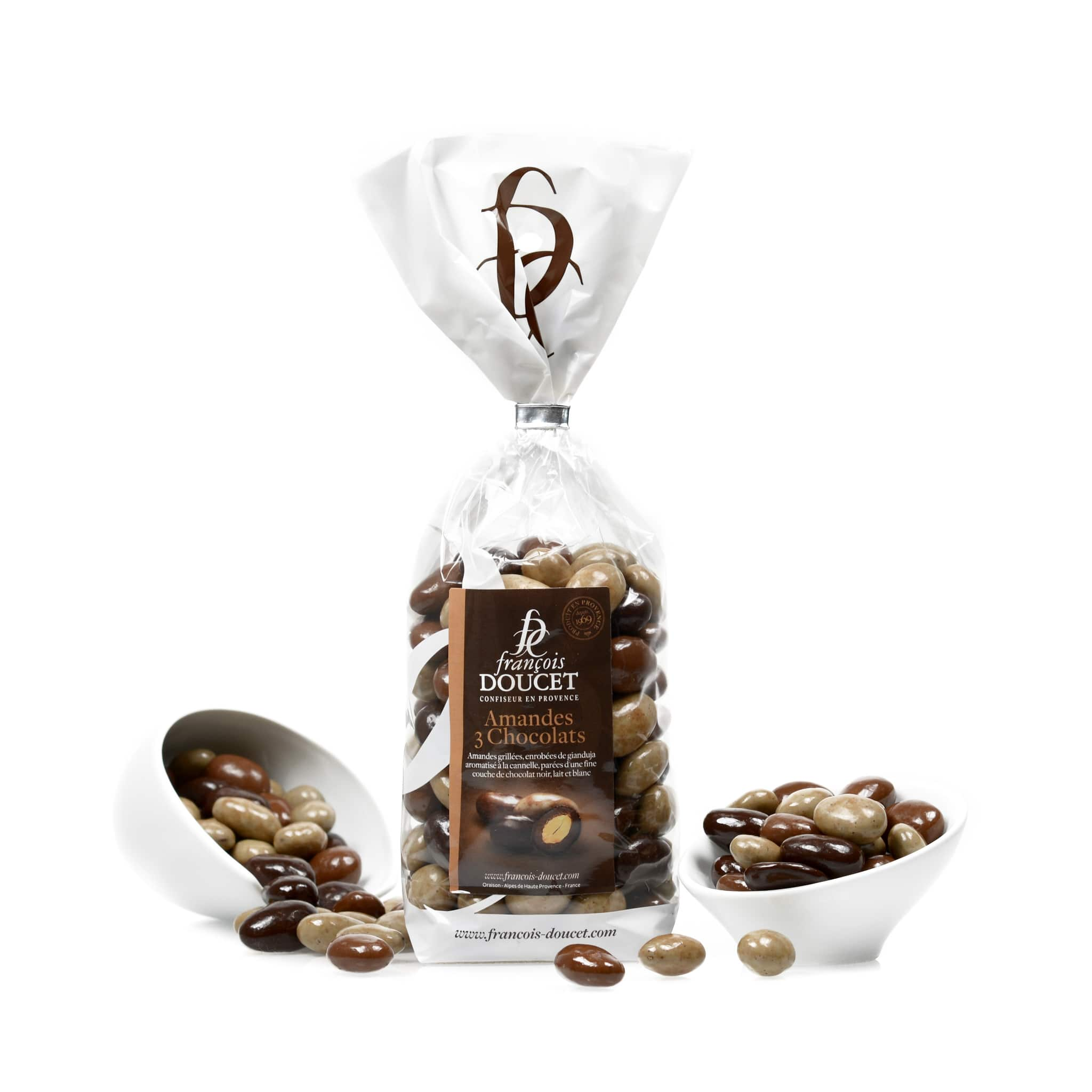Francois Doucet Assorted Chocolate Almonds