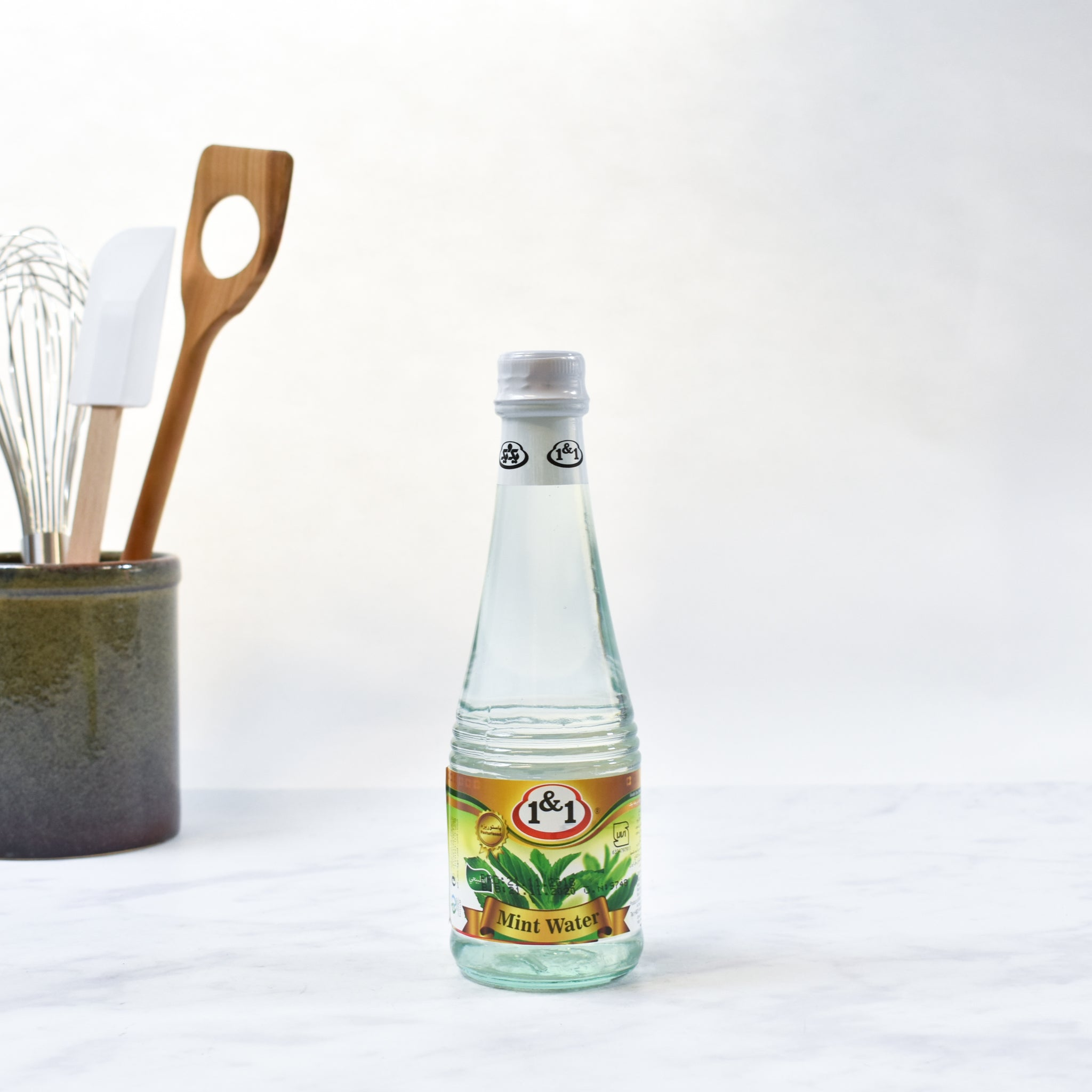 Mint Water 330ml lifestyle photograph