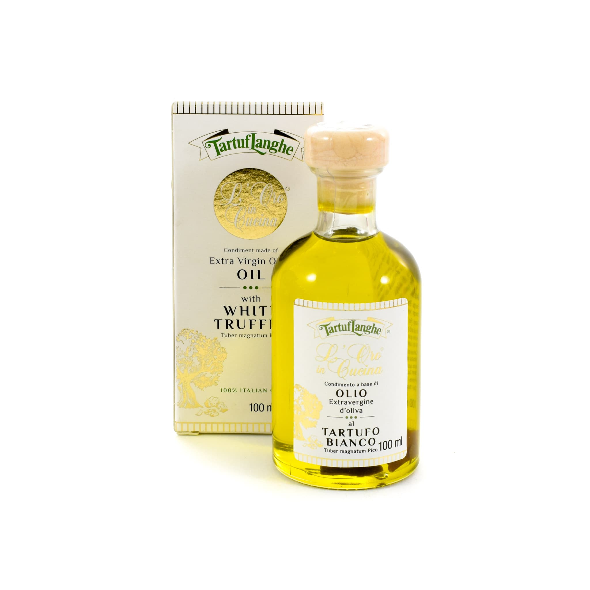 Extra Virgin Olive Oil With White Truffle Slices 100ml