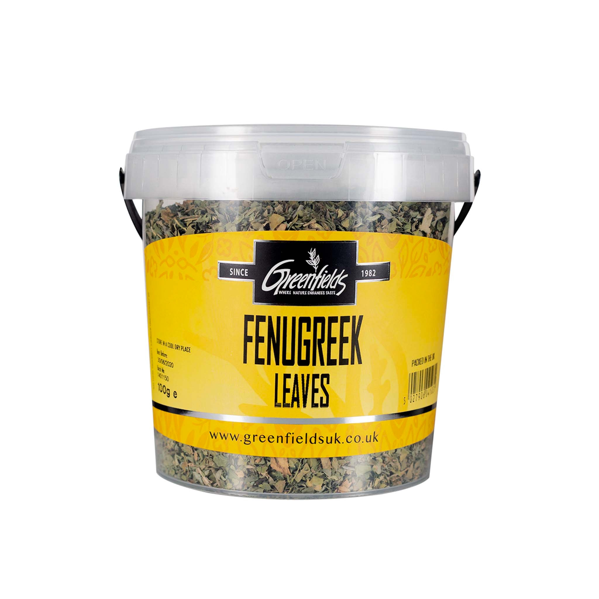 Greenfields Fenugreek Leaves Catering Size Ingredients Herbs & Spices Catering Size Herbs & Spices