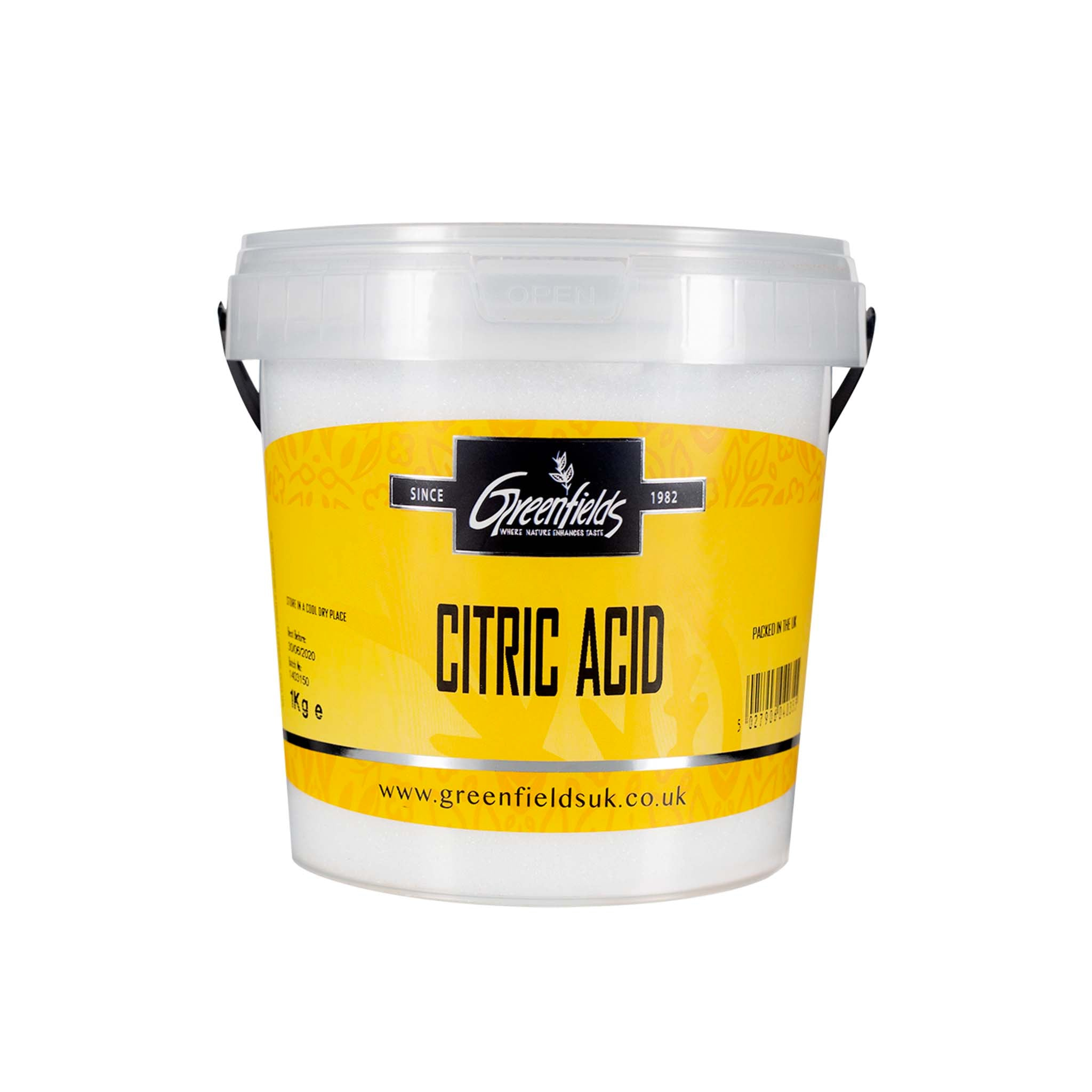 Citric Acid From Greenfields Buy Online Sous Chef Uk