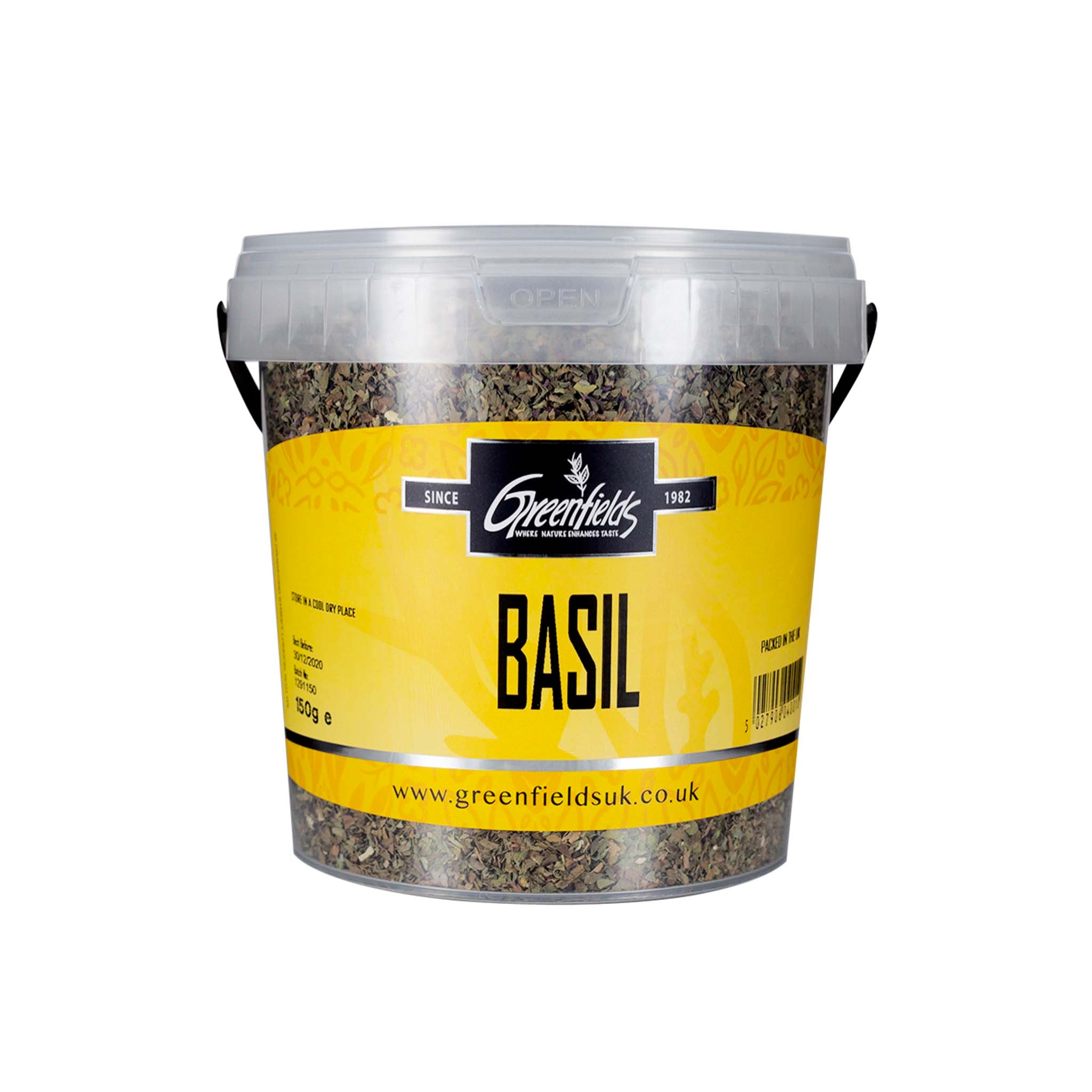 Greenfields Basil Catering Size