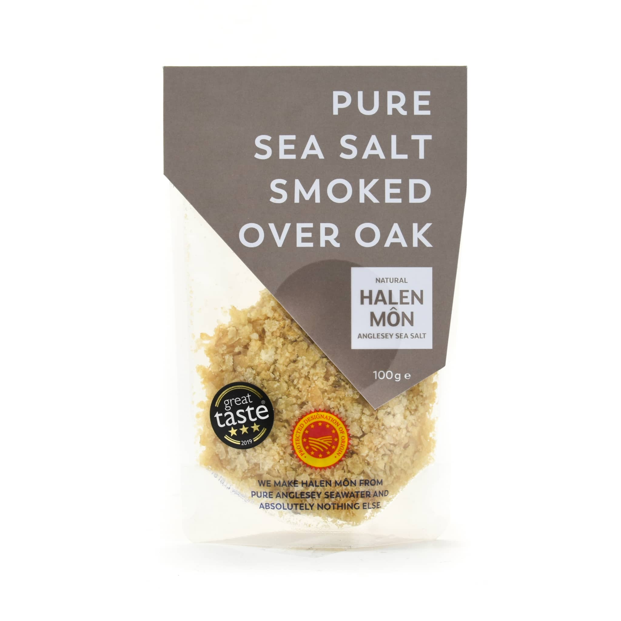 Halen Môn Oak Smoked Sea Salt 100g