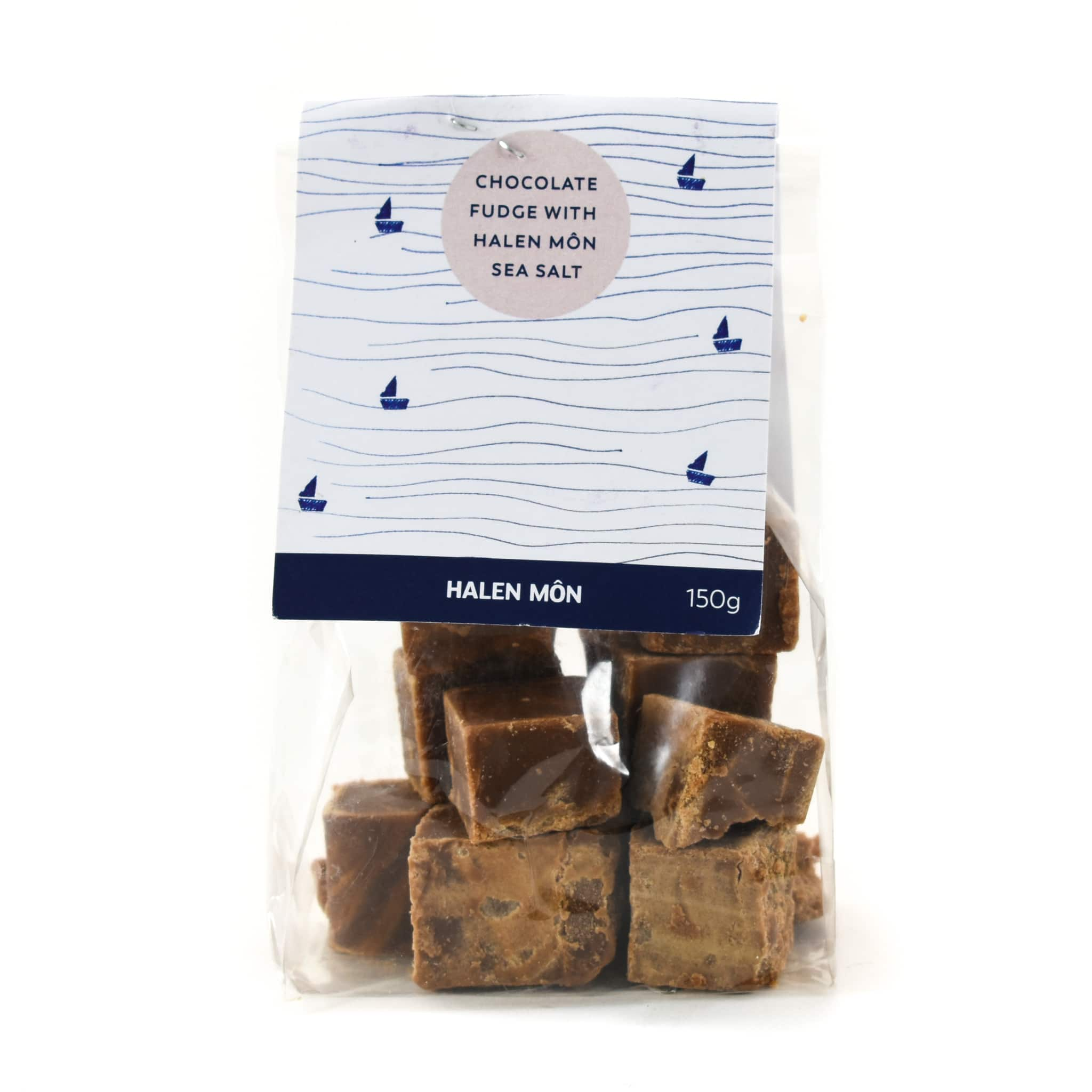 Halen Môn Salted Chocolate Fudge 100g