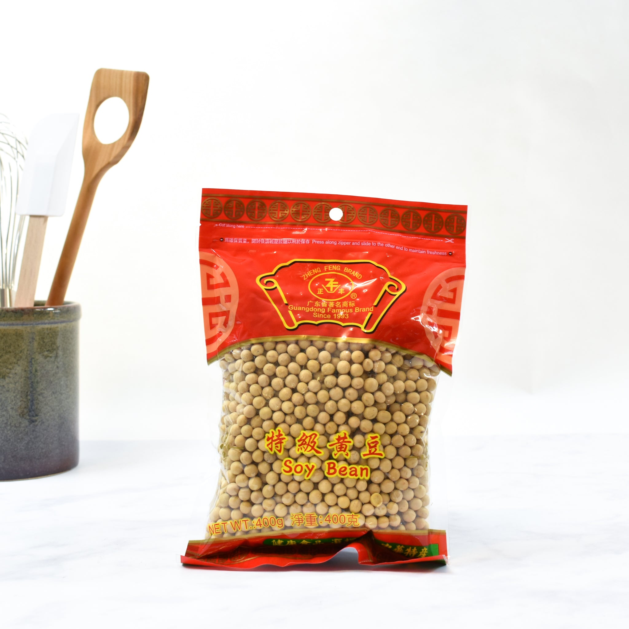 Soy Beans 400g lifestyle photograph