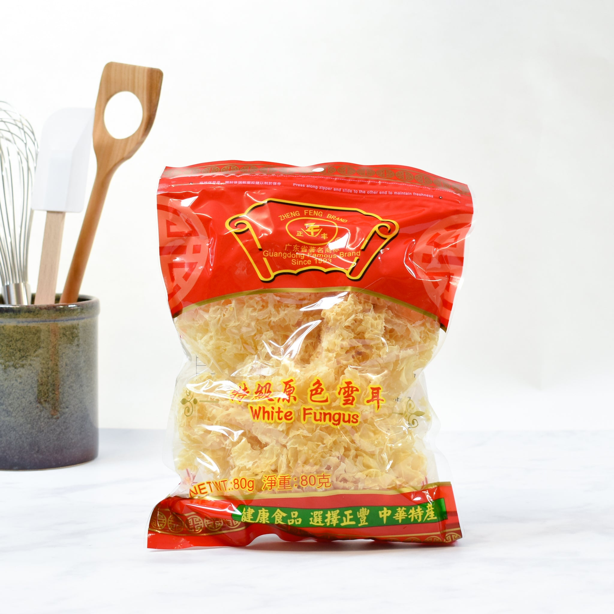 White Fungus 80g lifestyle photograph