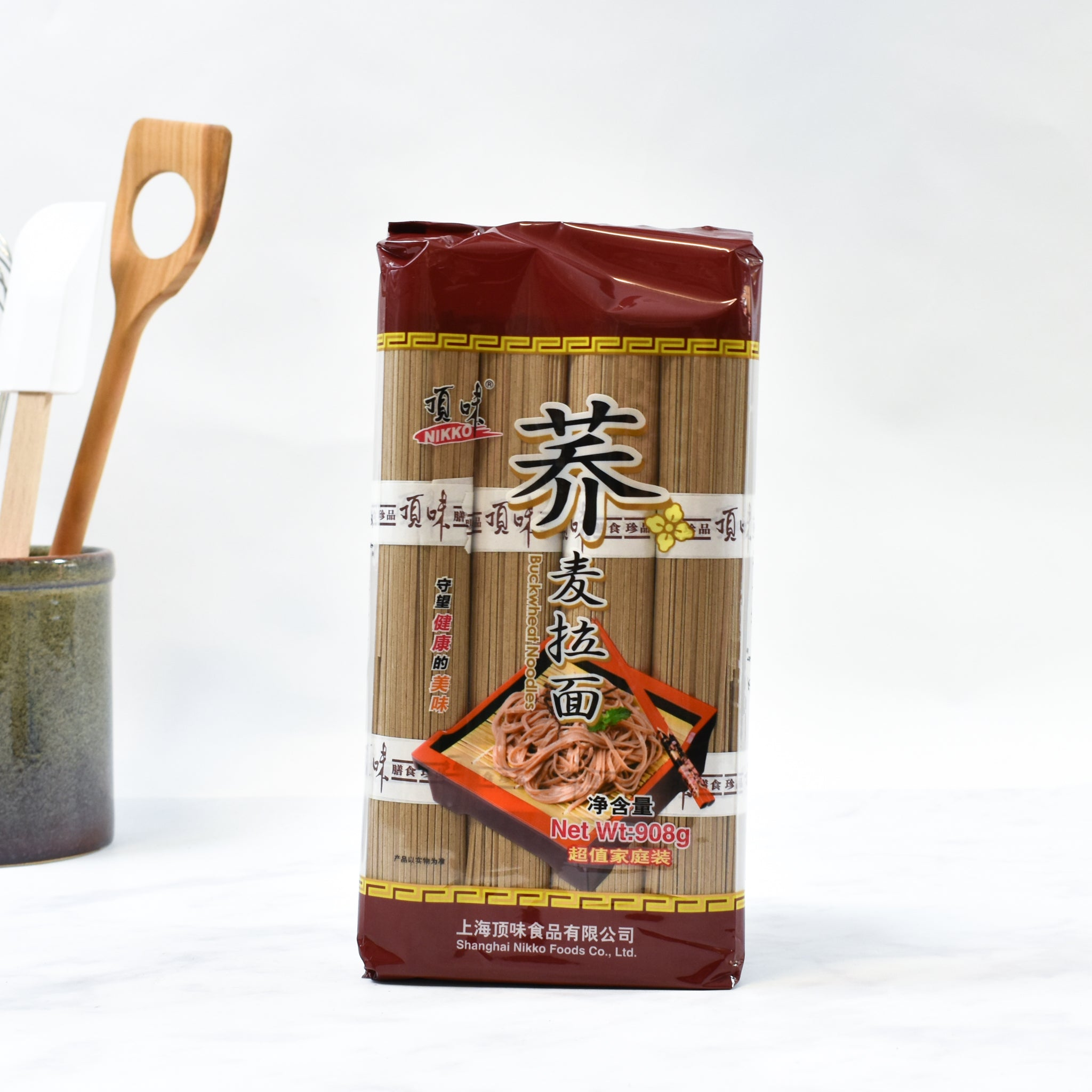 Buckwheat Noodles 908g lifestyle photograph