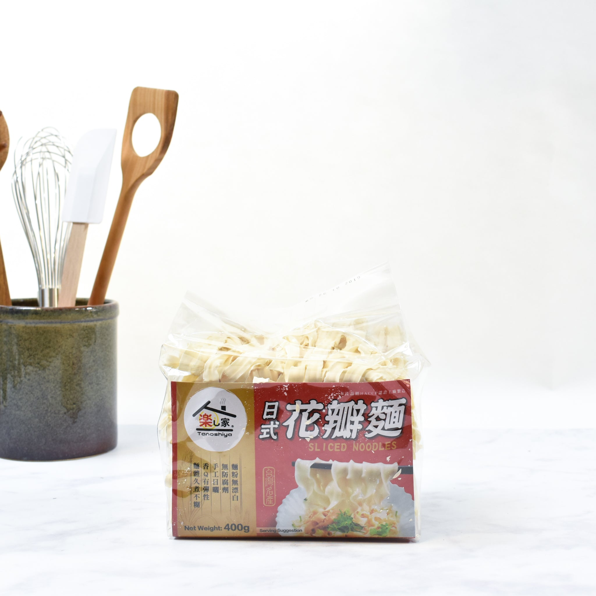 Taiwanese Dried Noodles 400g lifestyle photograph