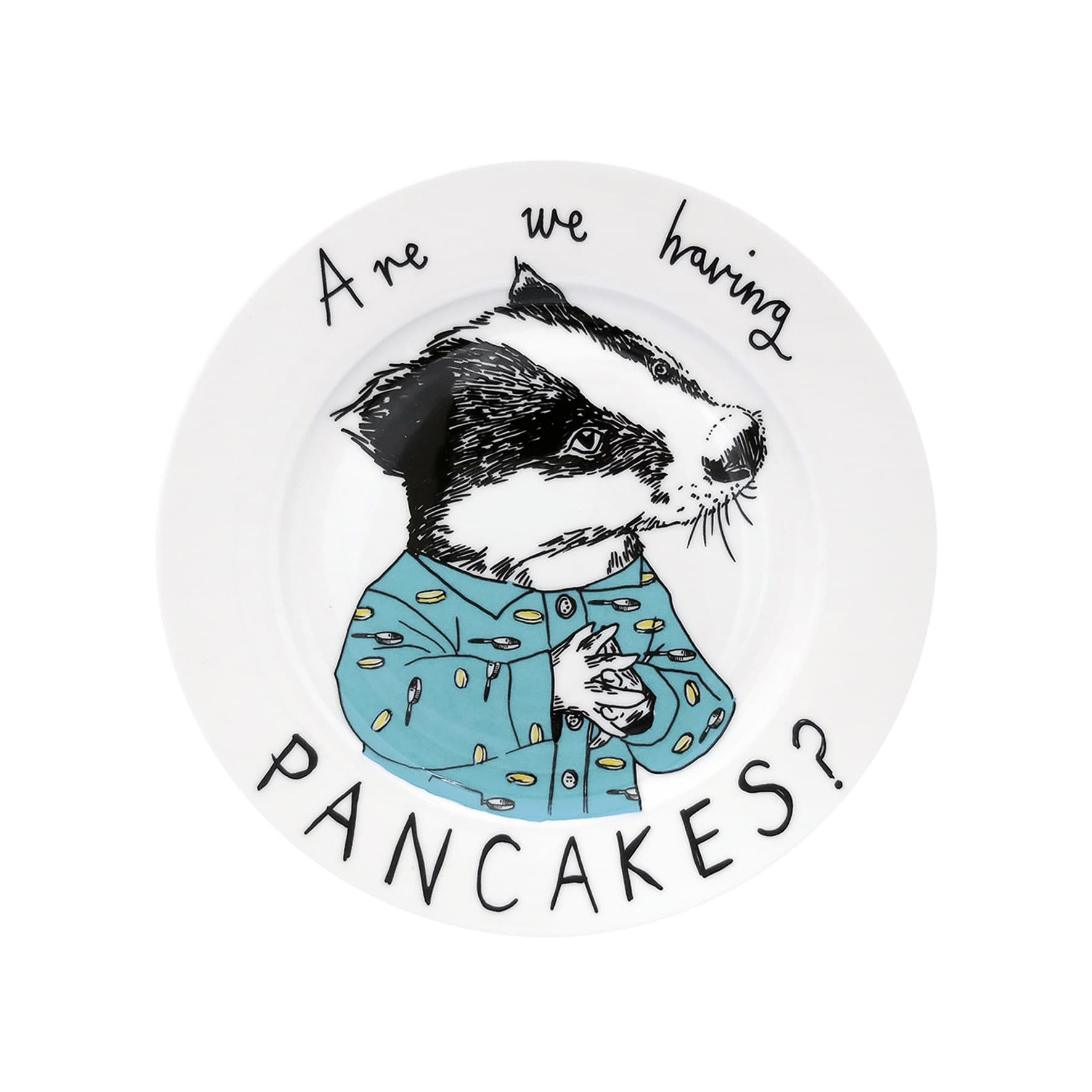 Are We Having Pancakes? Side Plate 20cm