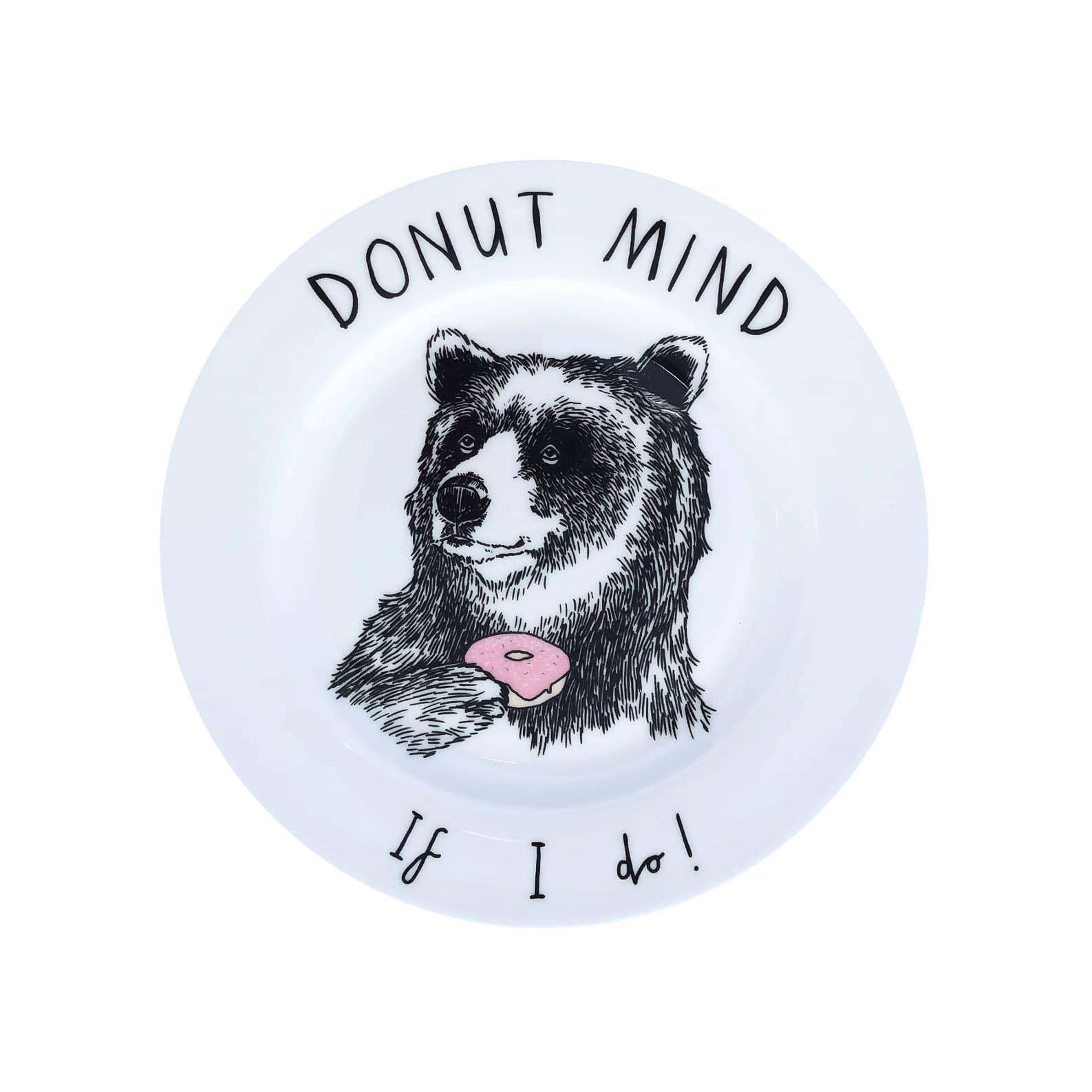 Donut Mind if I Do Side Plate 20cm