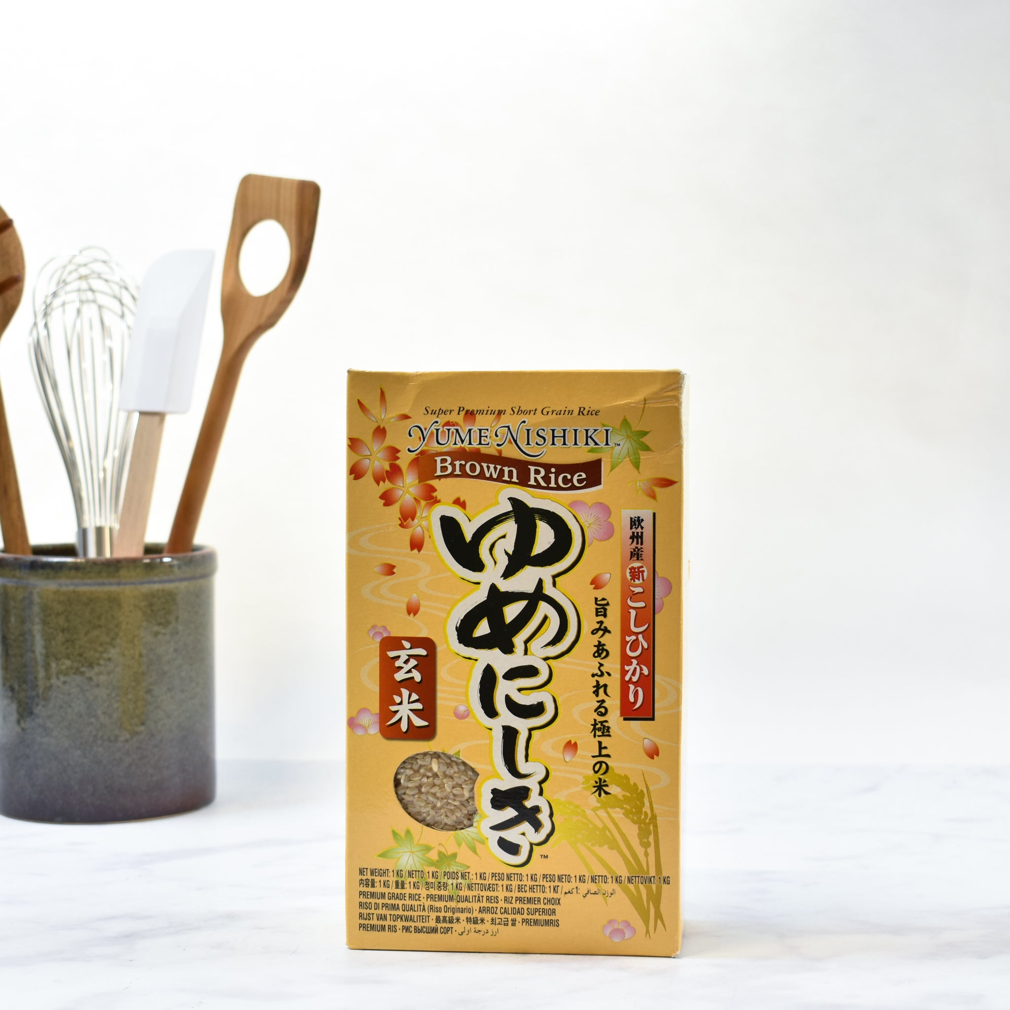 Brown Sushi Rice 1kg lifestyle photograph