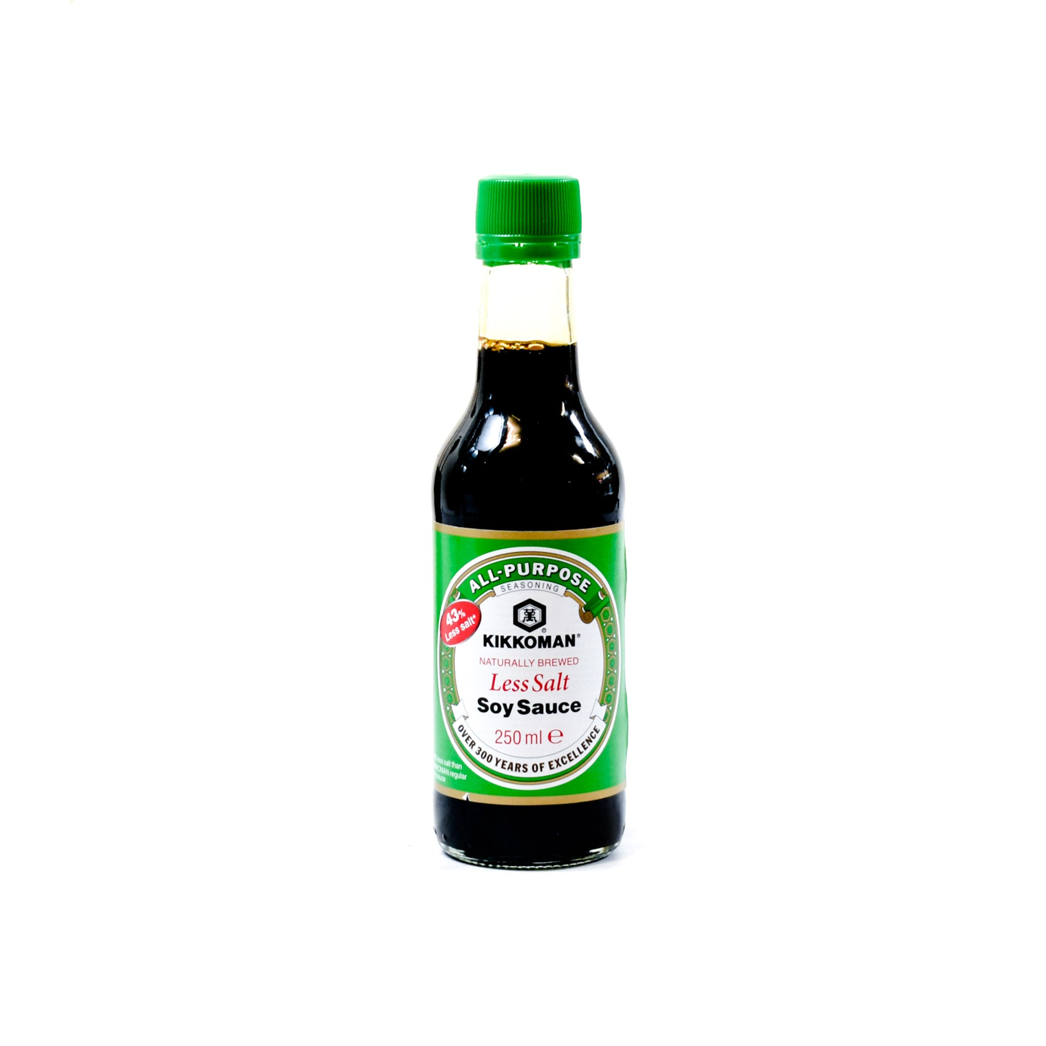 Kikkoman Soy Sauce - Less Salt 250ml