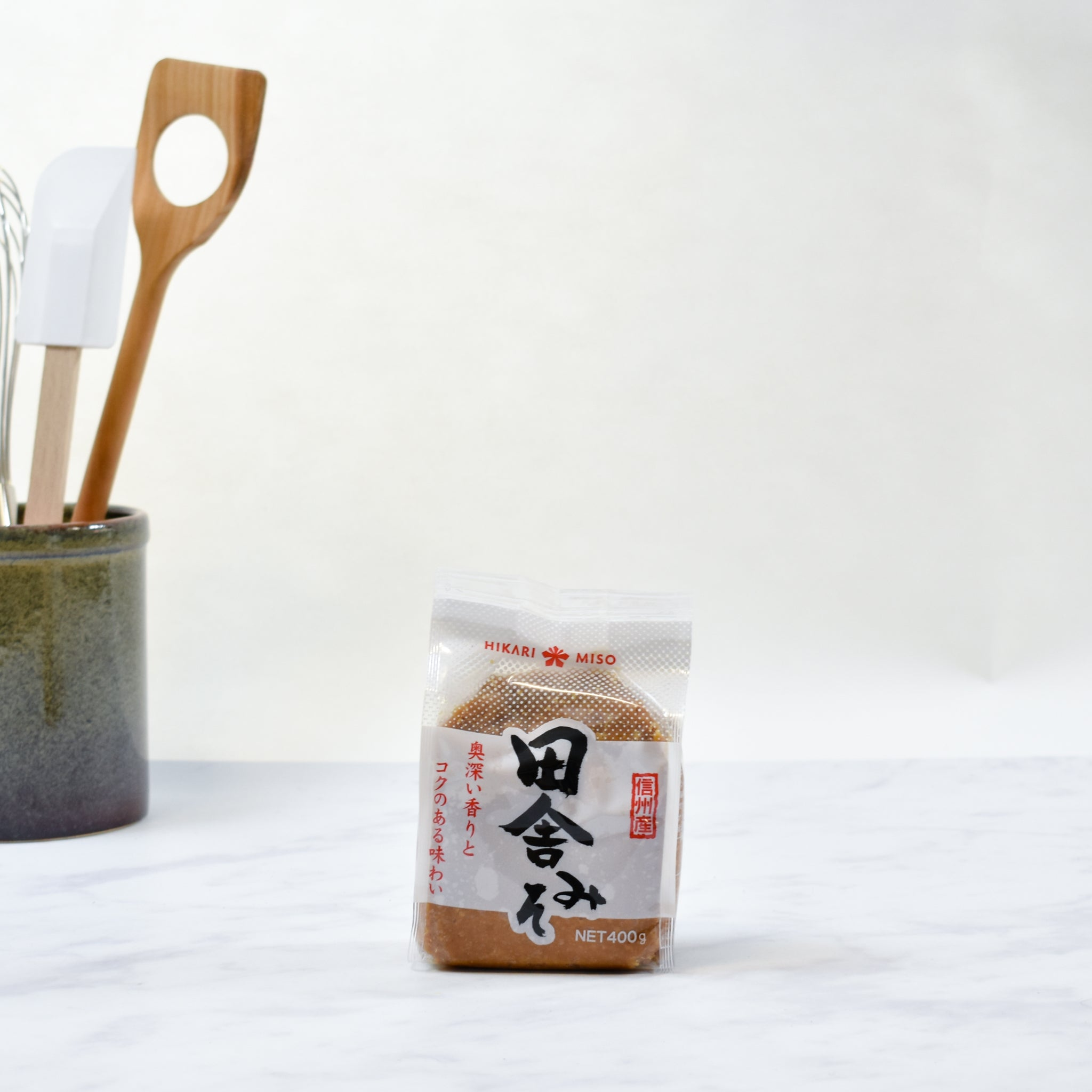 Red Miso Paste 400g lifestyle photograph