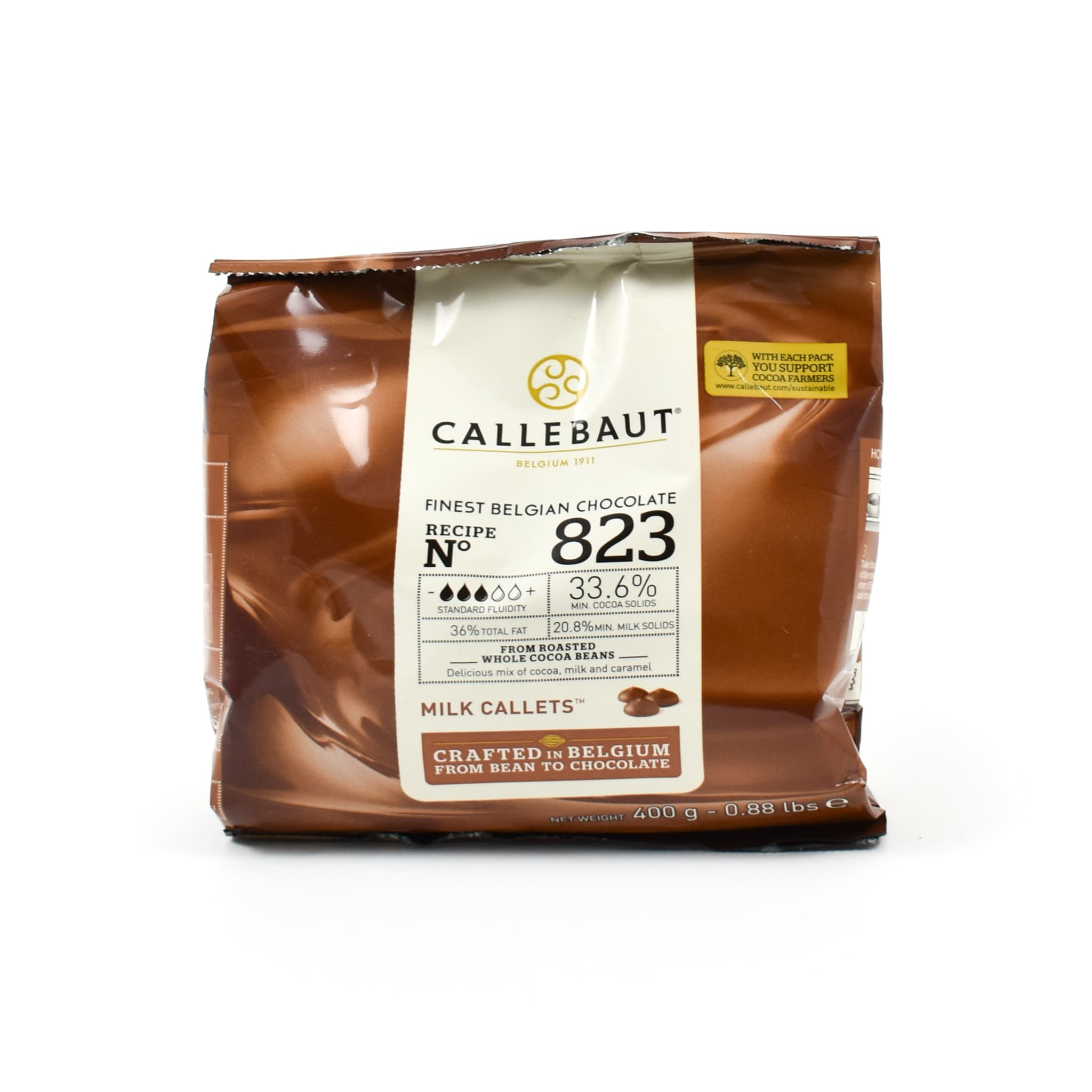 Callebaut Milk Chocolate Couverture 34%