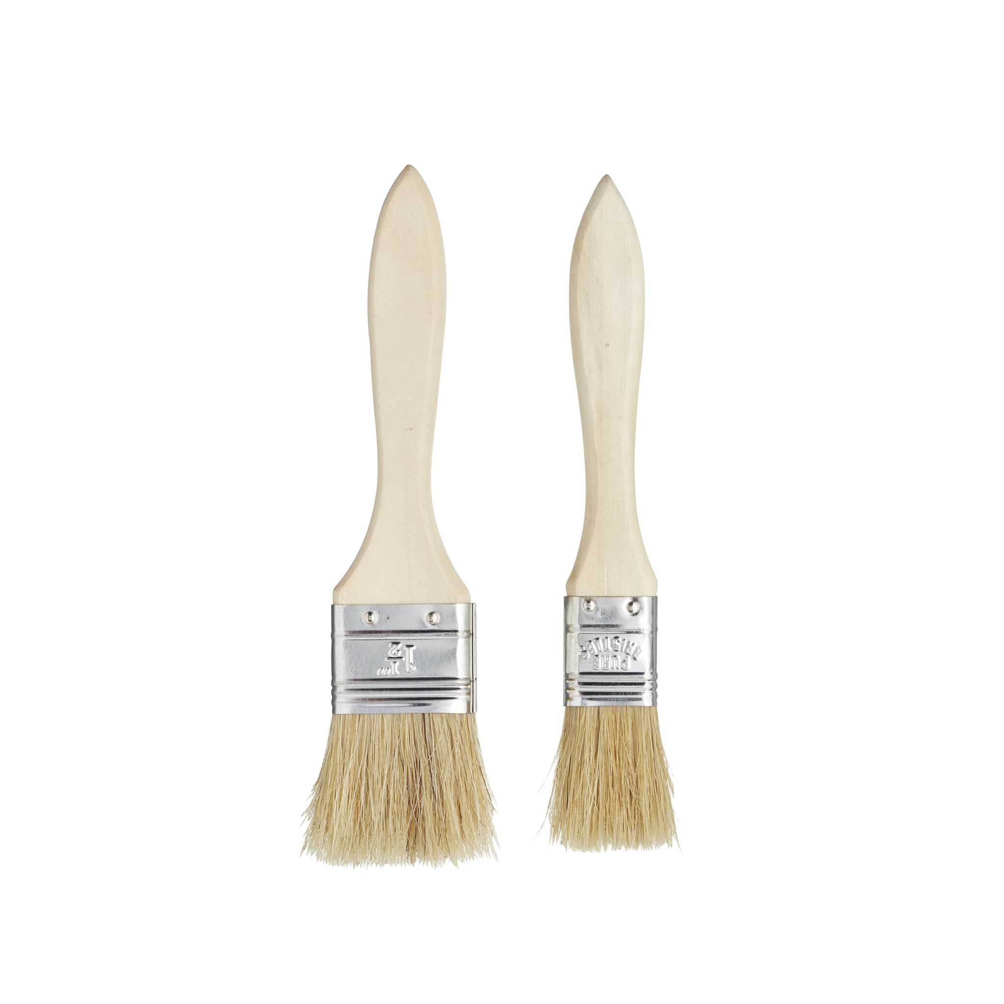 Set of 2 Patisserie Brushes