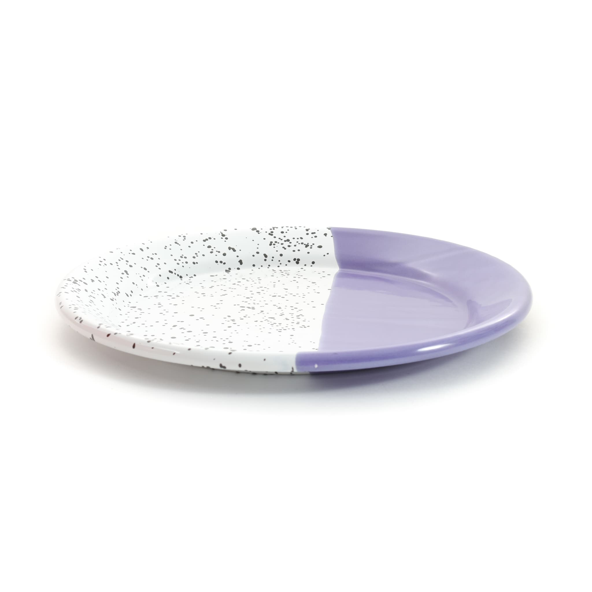 Colour Pop Enamel Plate Purple