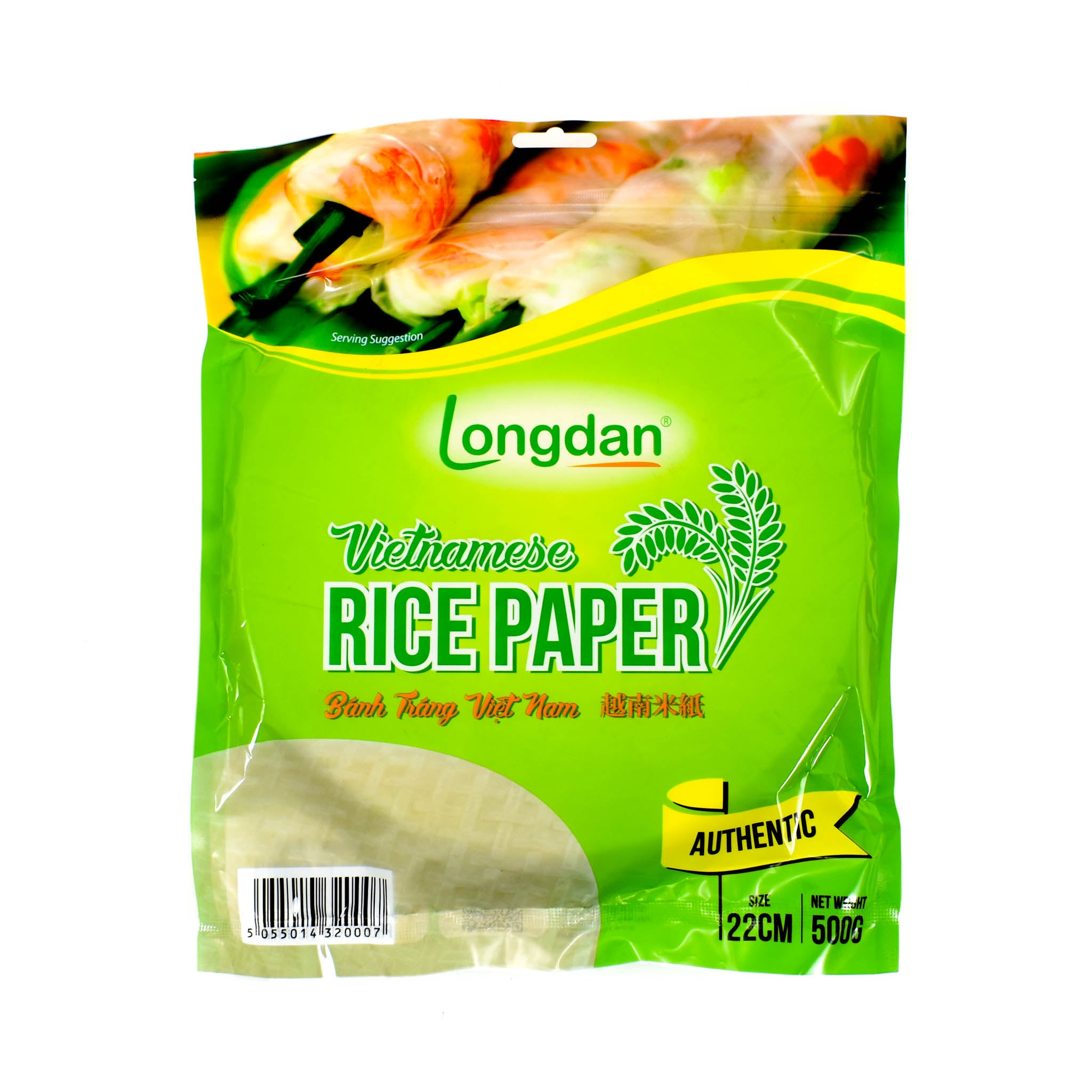 Vietnamese Summer Roll Rice Paper 500g