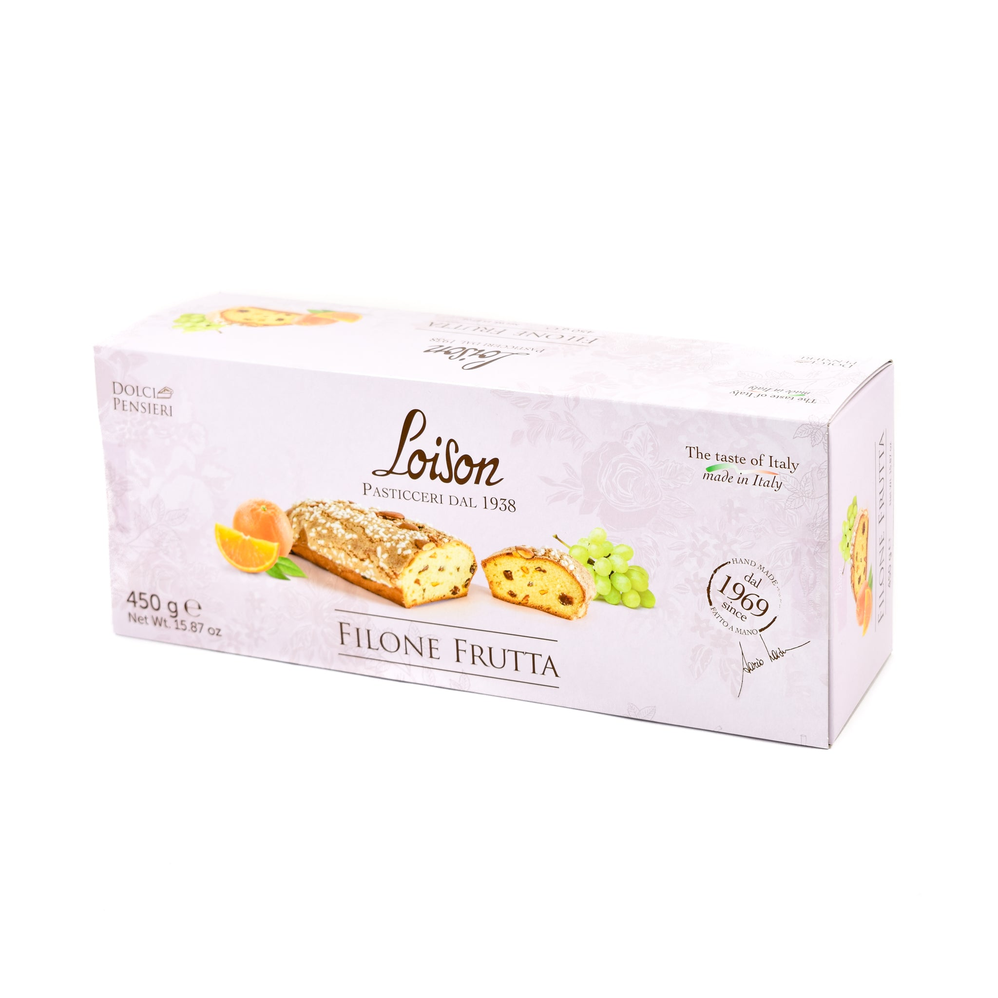 Loison Classic Filone 450g Ingredients Chocolate Bars & Confectionery Italian Food