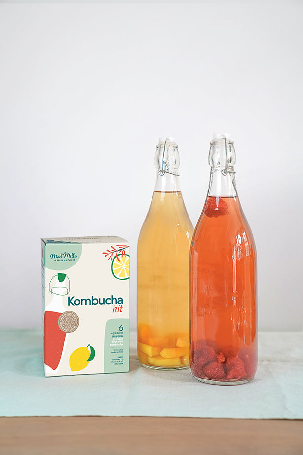 Mad Millie Kombucha Kit Ingredients Fermentation & Preserving