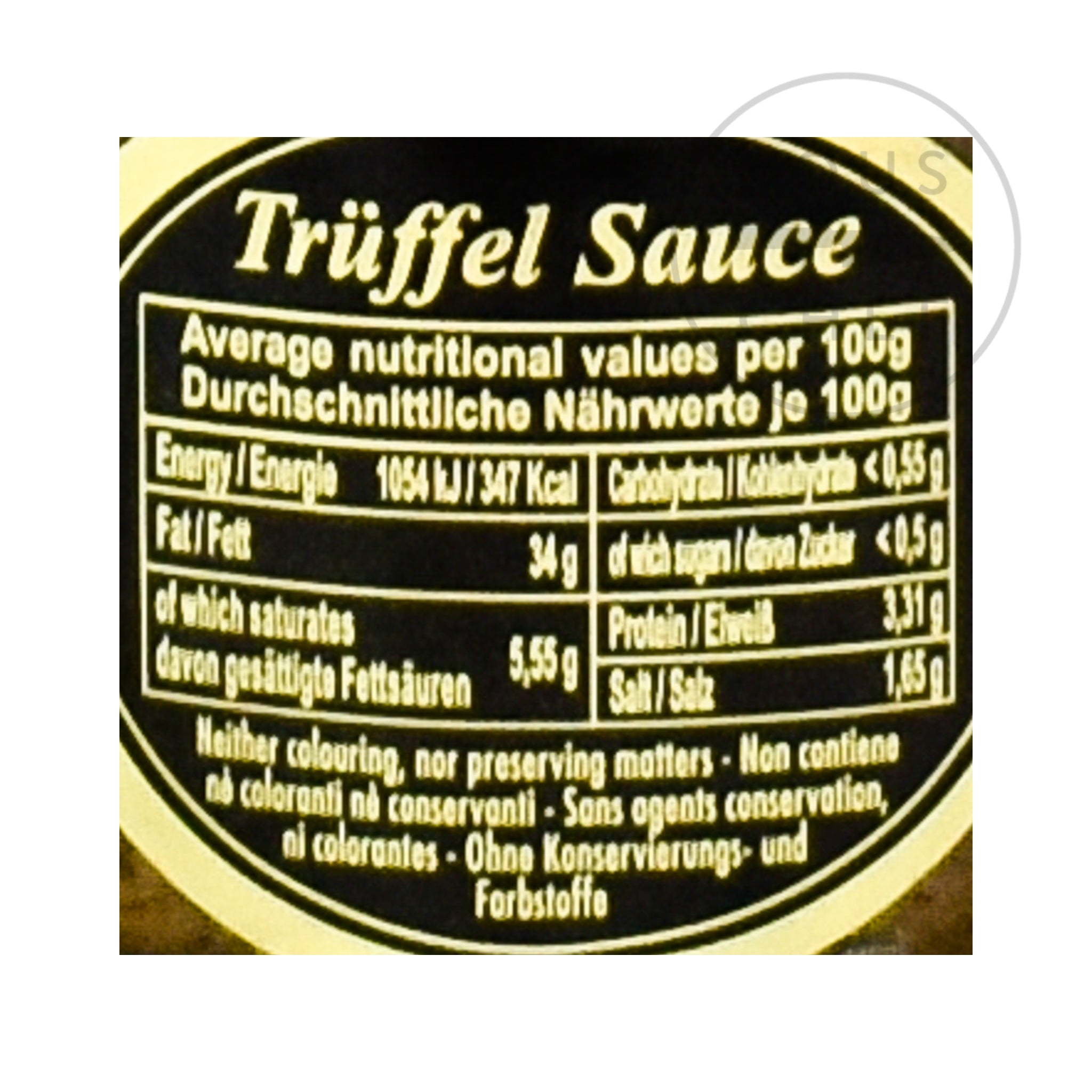 Truffled Sauce With Olives & Anchovies 80g