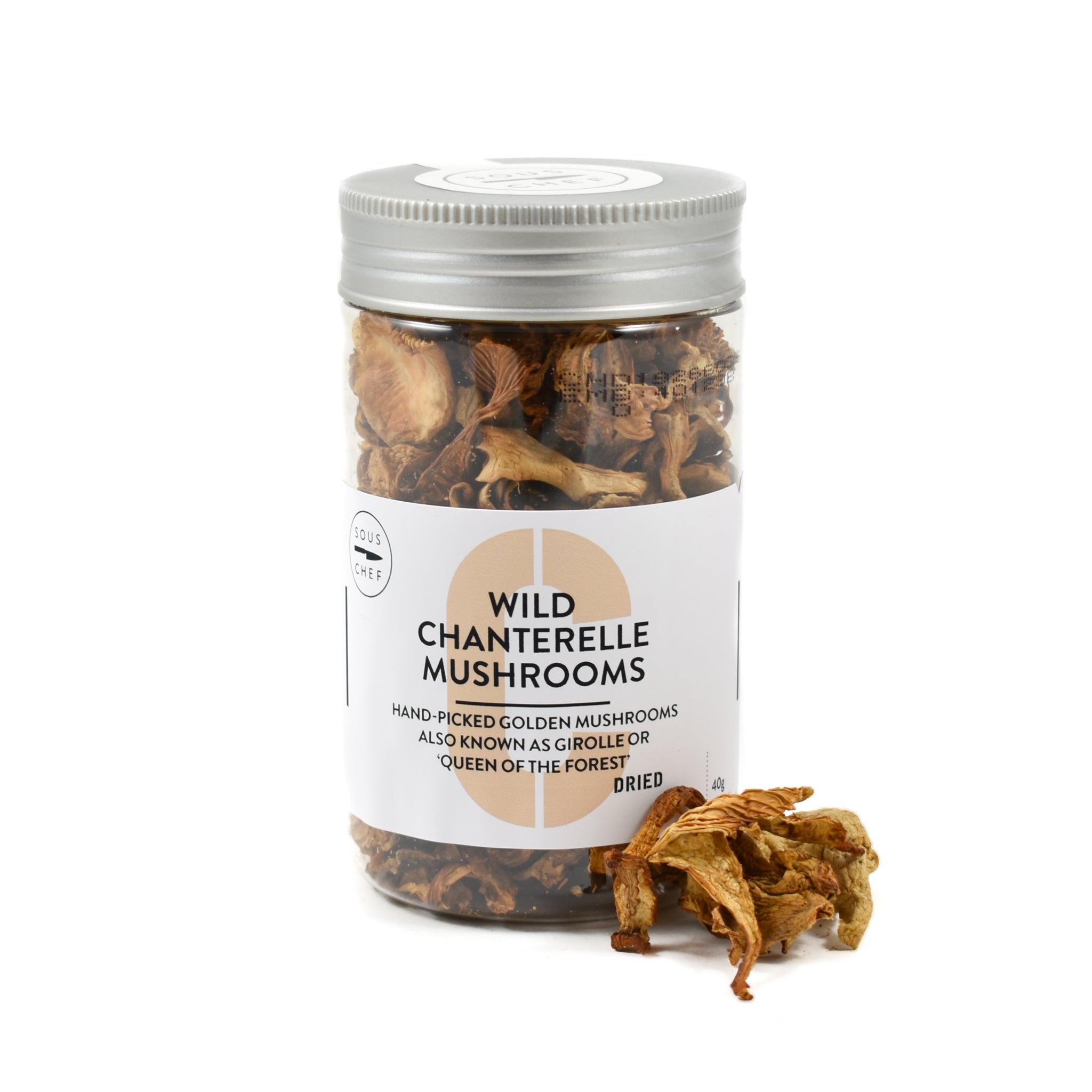 Sous Chef Dried Wild Chanterelle Mushrooms 40g
