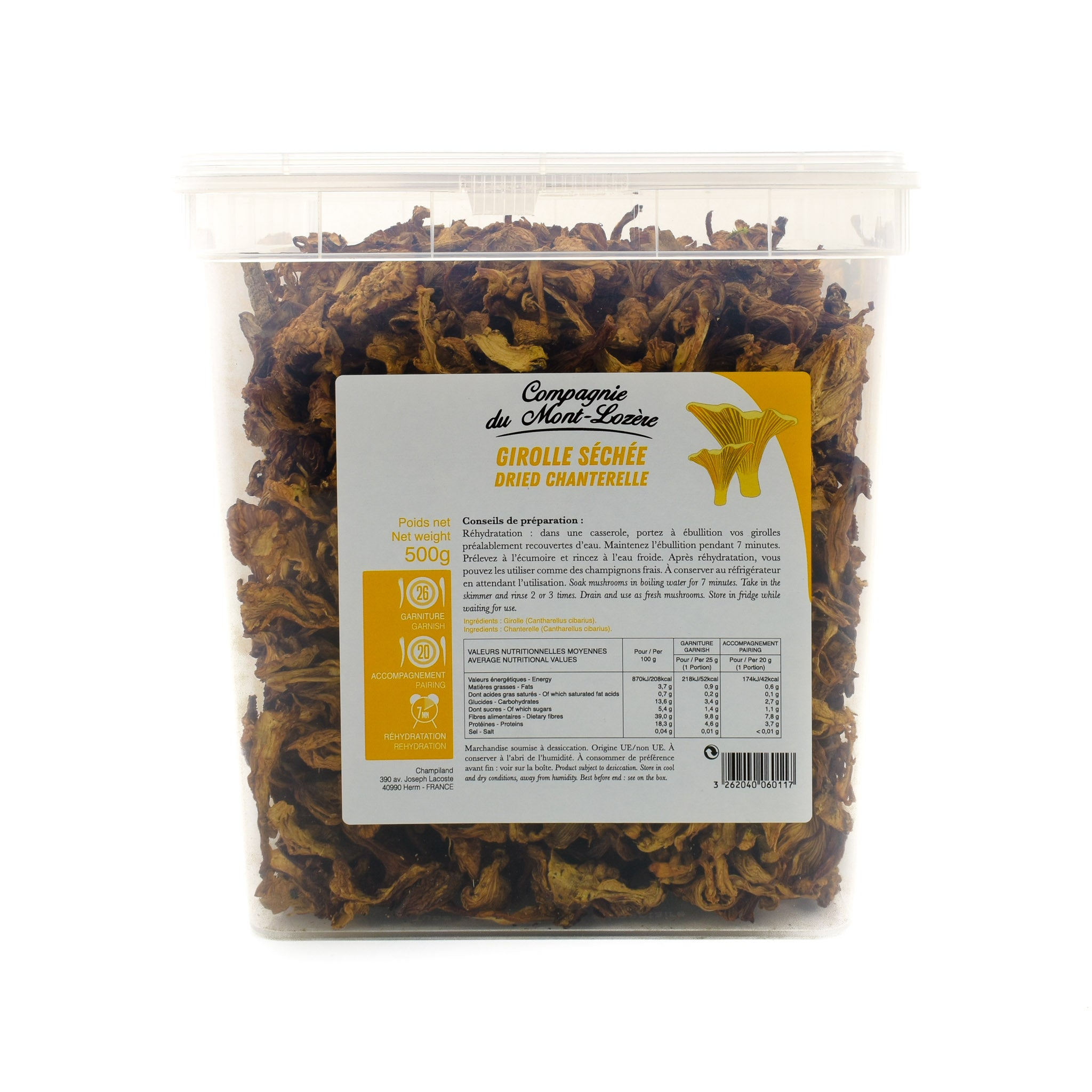 Girolle Mushrooms 500g