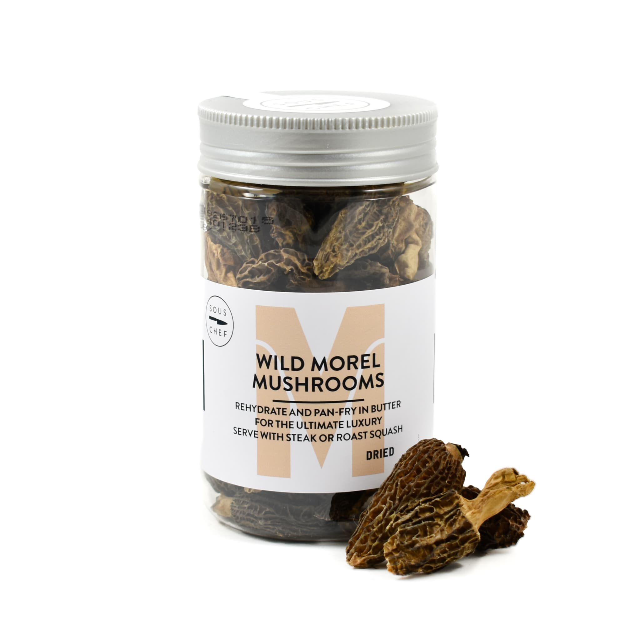Sous Chef Wild Morel Mushrooms 30g