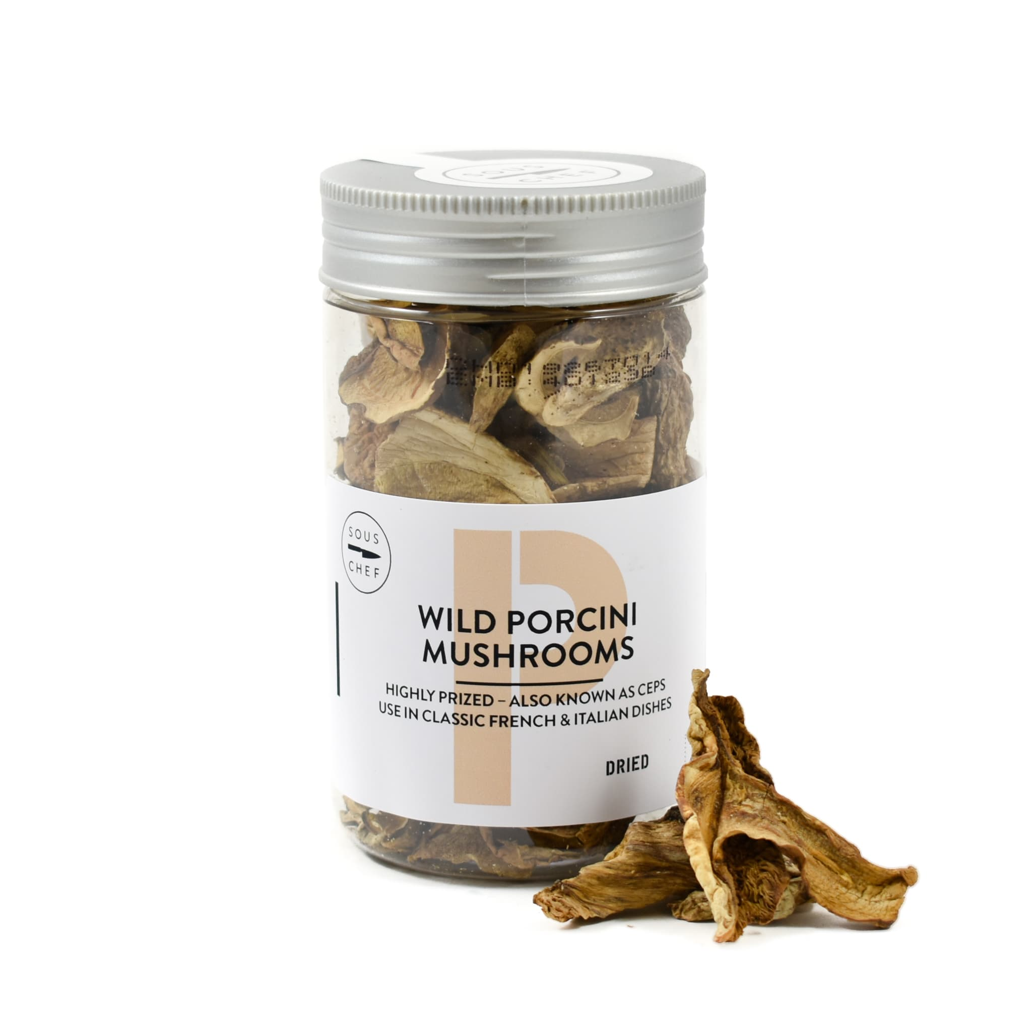 Sous Chef Dried Wild Porcini Mushrooms 40g
