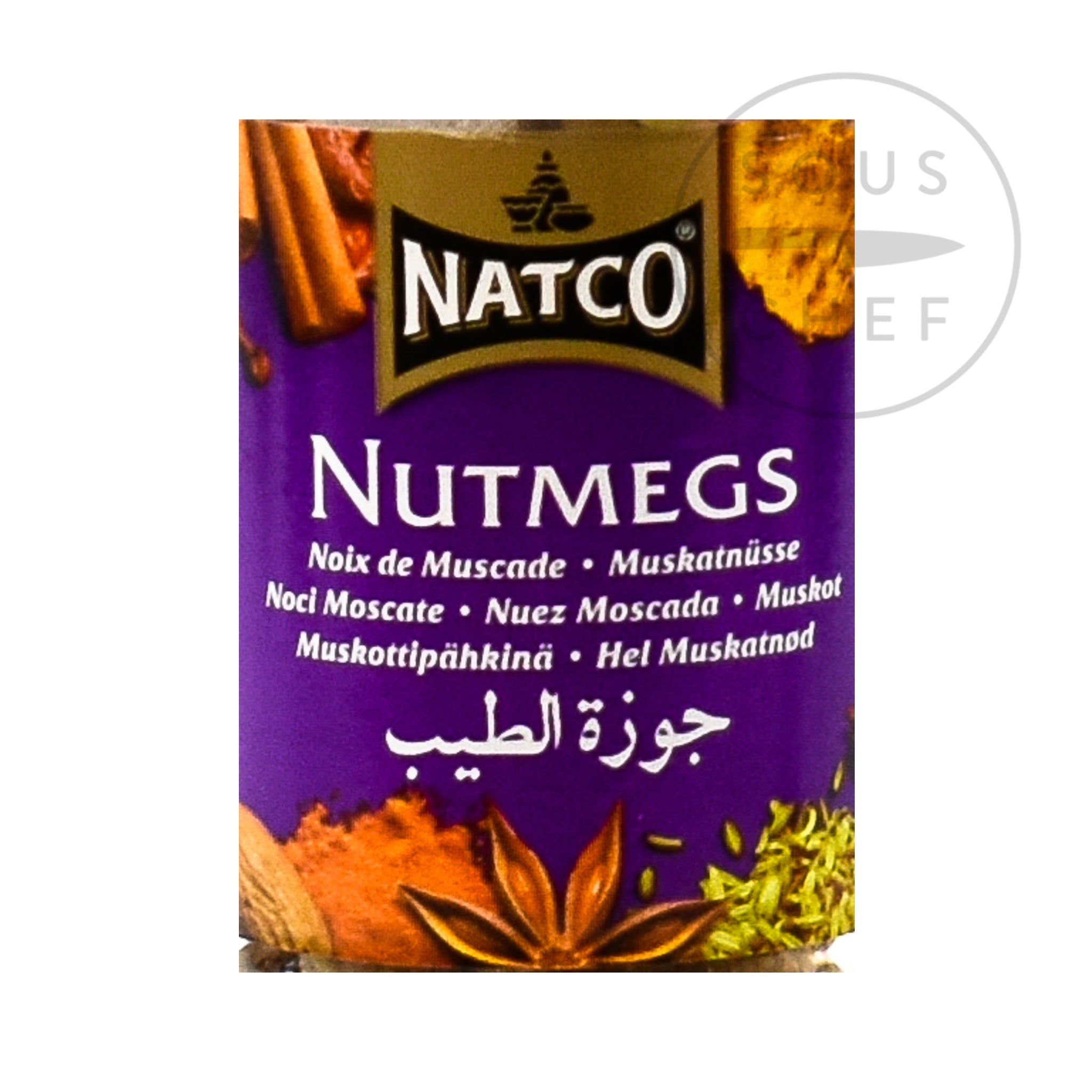 Natco Whole Nutmeg 100g