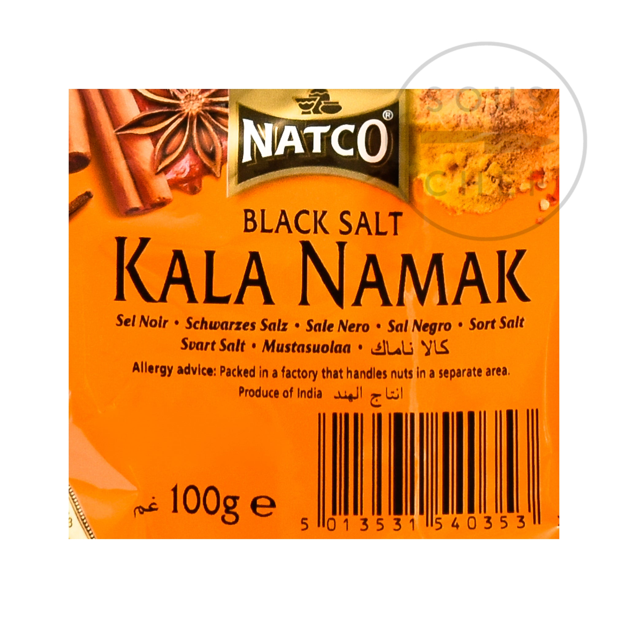 Kala Namak - Indian Black Salt 100g