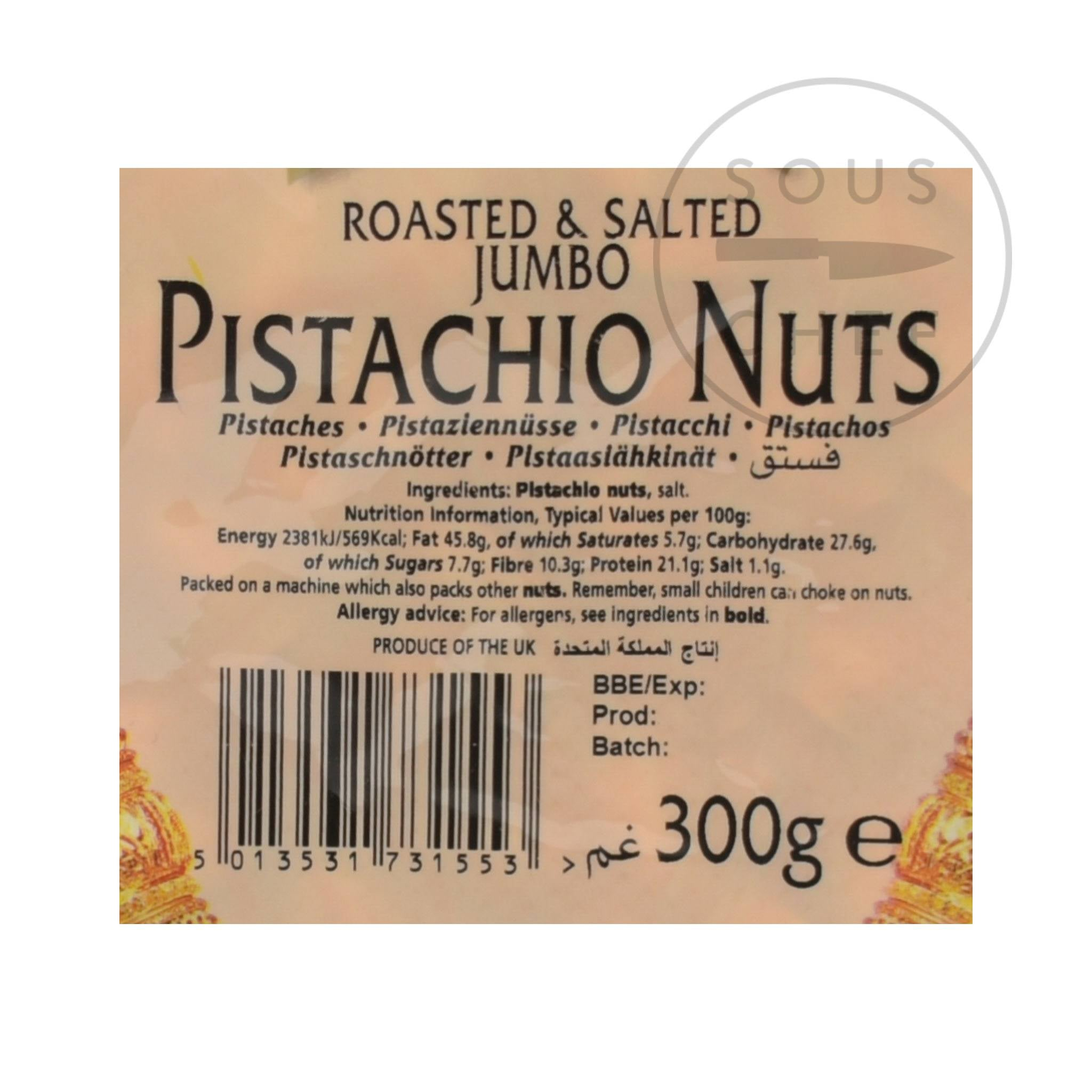 Natco Roasted & Salted Pistachios 300g