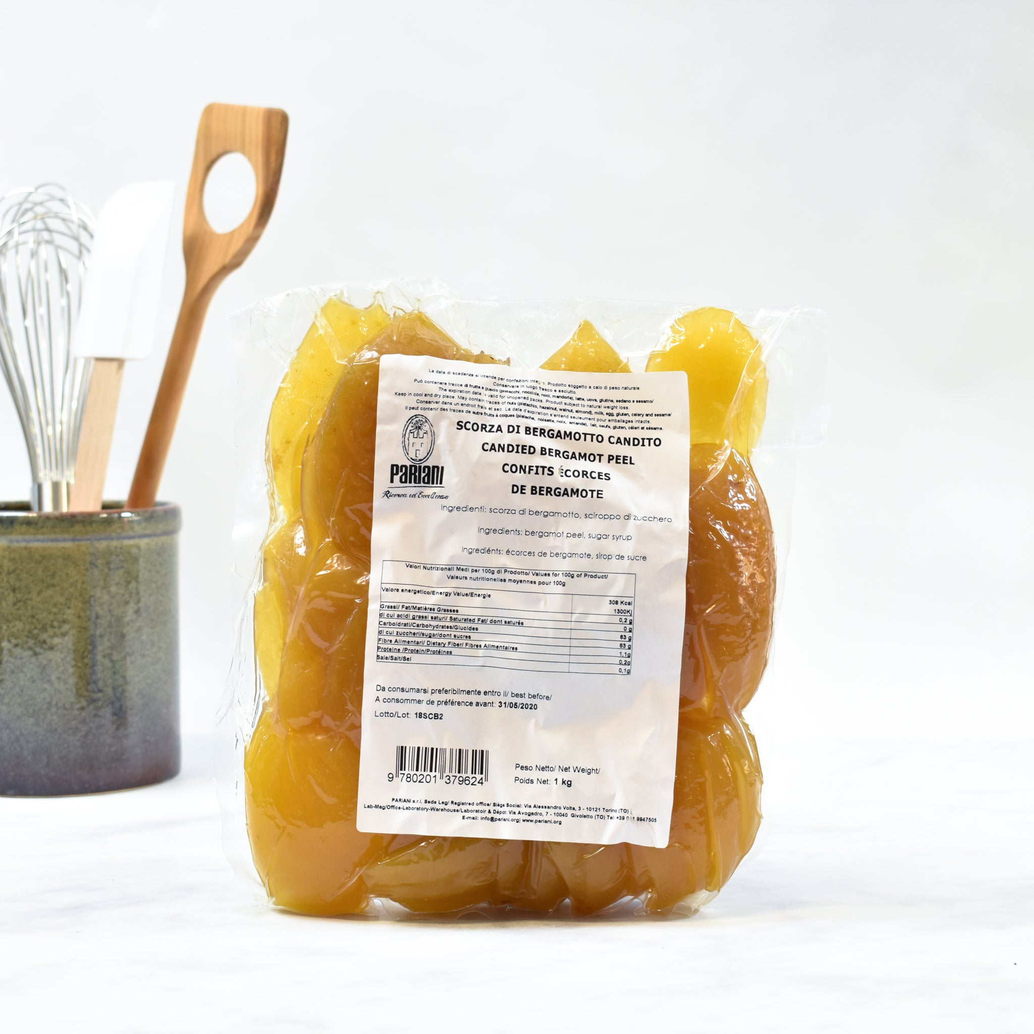 Calabrian Candied Bergamot Peel