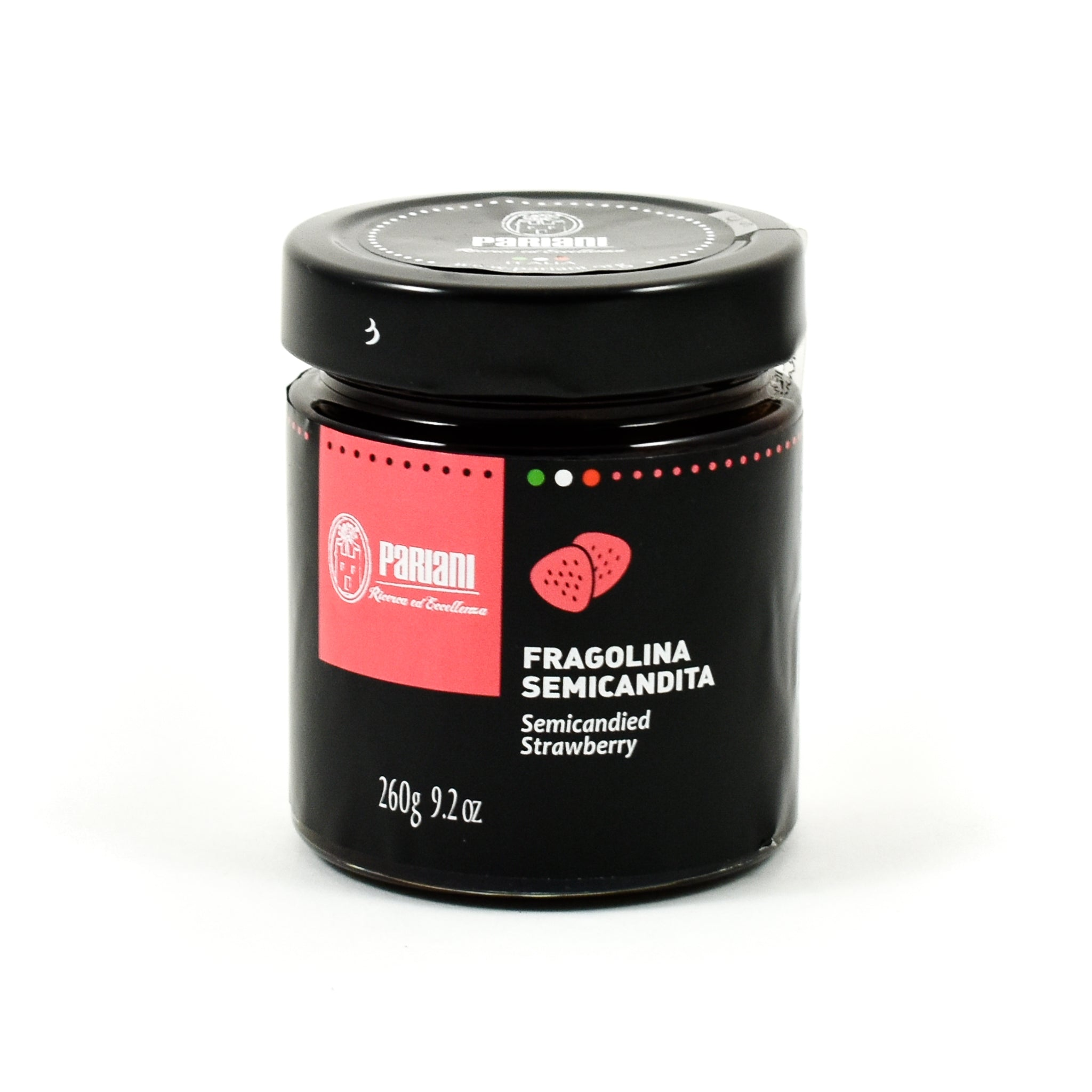 Pariani Semi-Candied Wild Strawberries 260g Ingredients Jam Honey & Preserves Italian Food