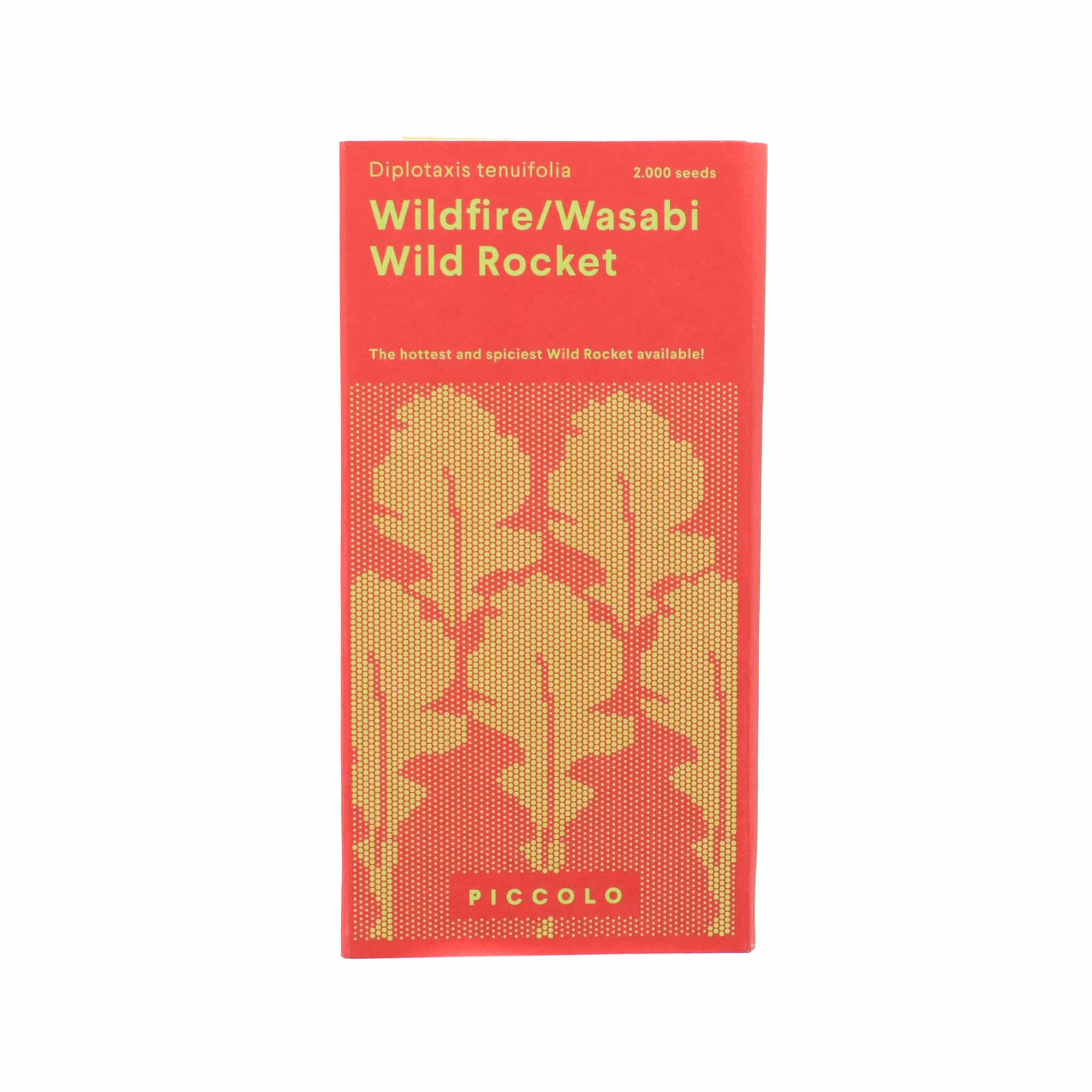 Piccolo Wildfire Wasabi Rocket Seeds