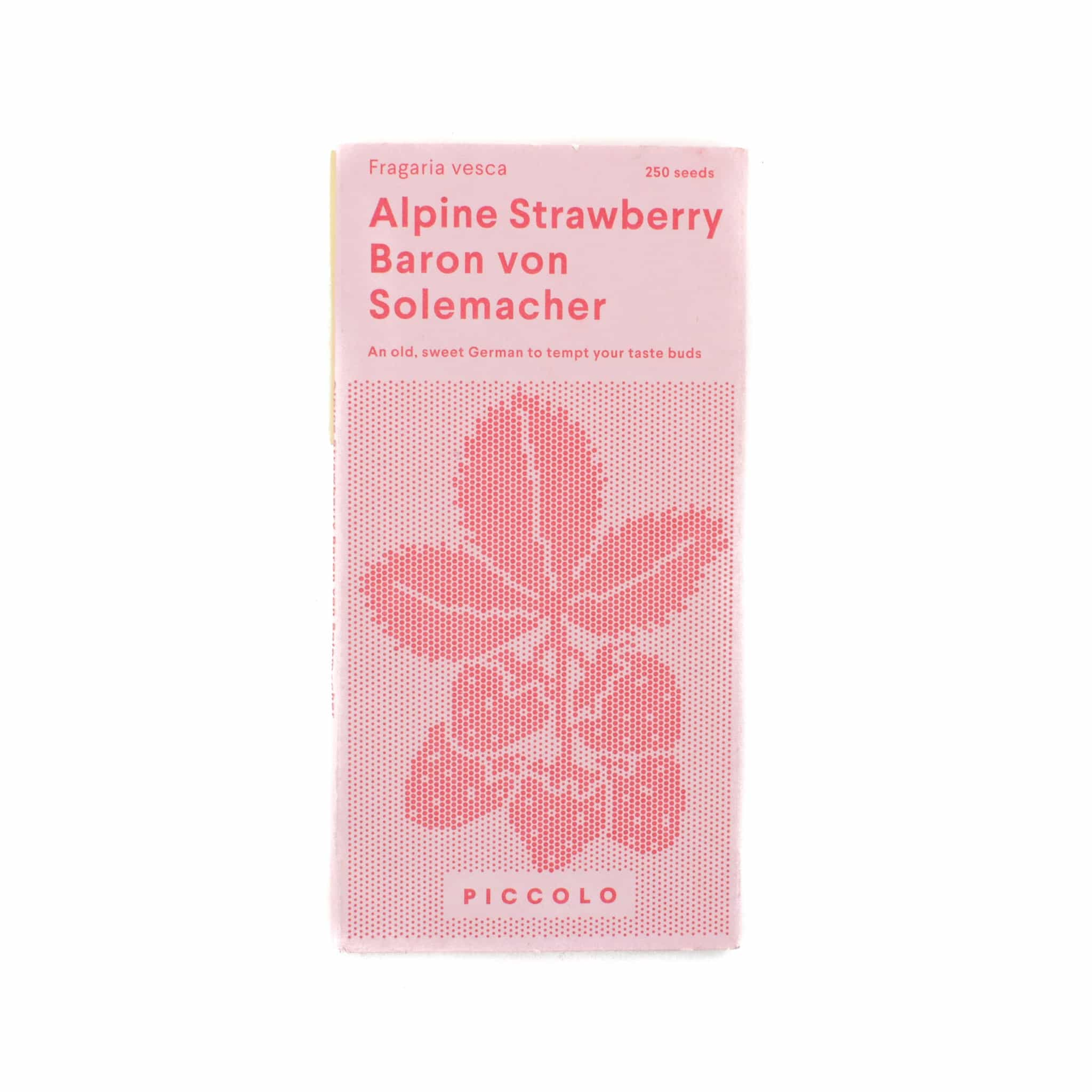 Piccolo Alpine Strawberry Seeds