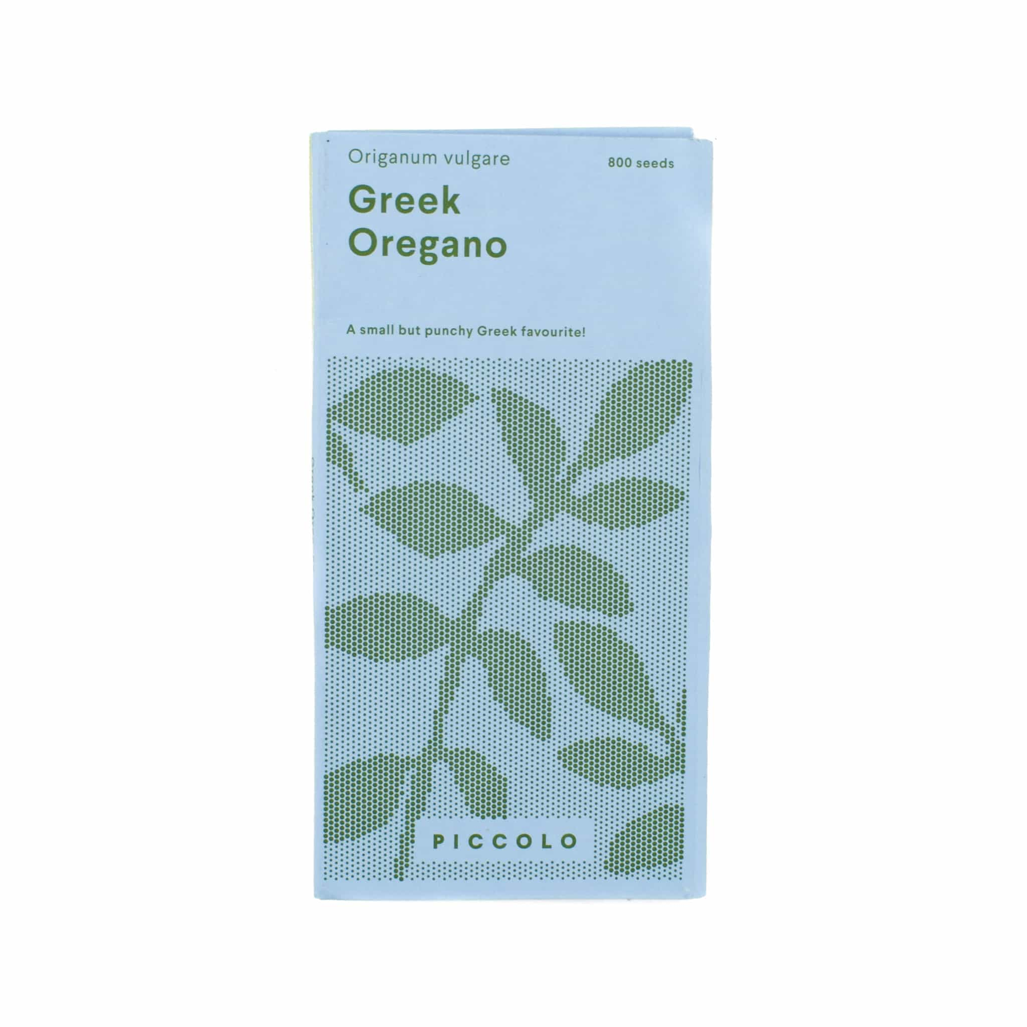 Piccolo Greek Oregano Plant Seeds