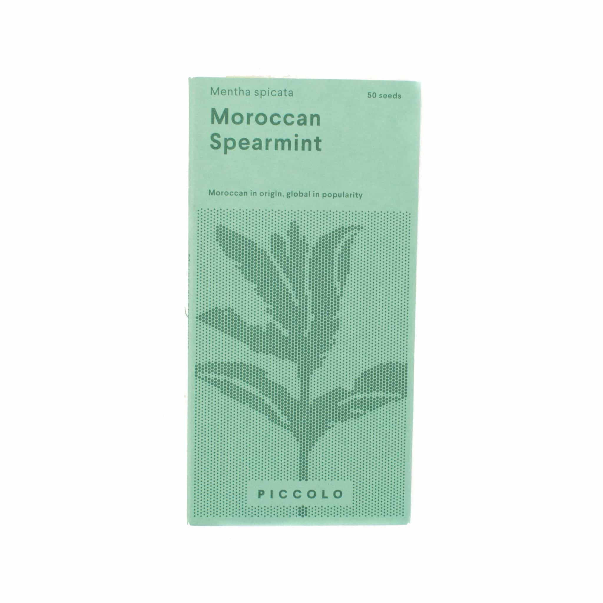 Piccolo Moroccan Spearmint Seeds