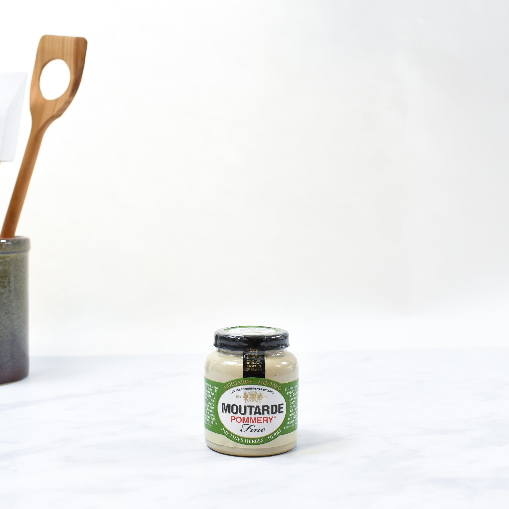 Pommery Herb Mustard - Chives, Parsley & Tarragon 100g