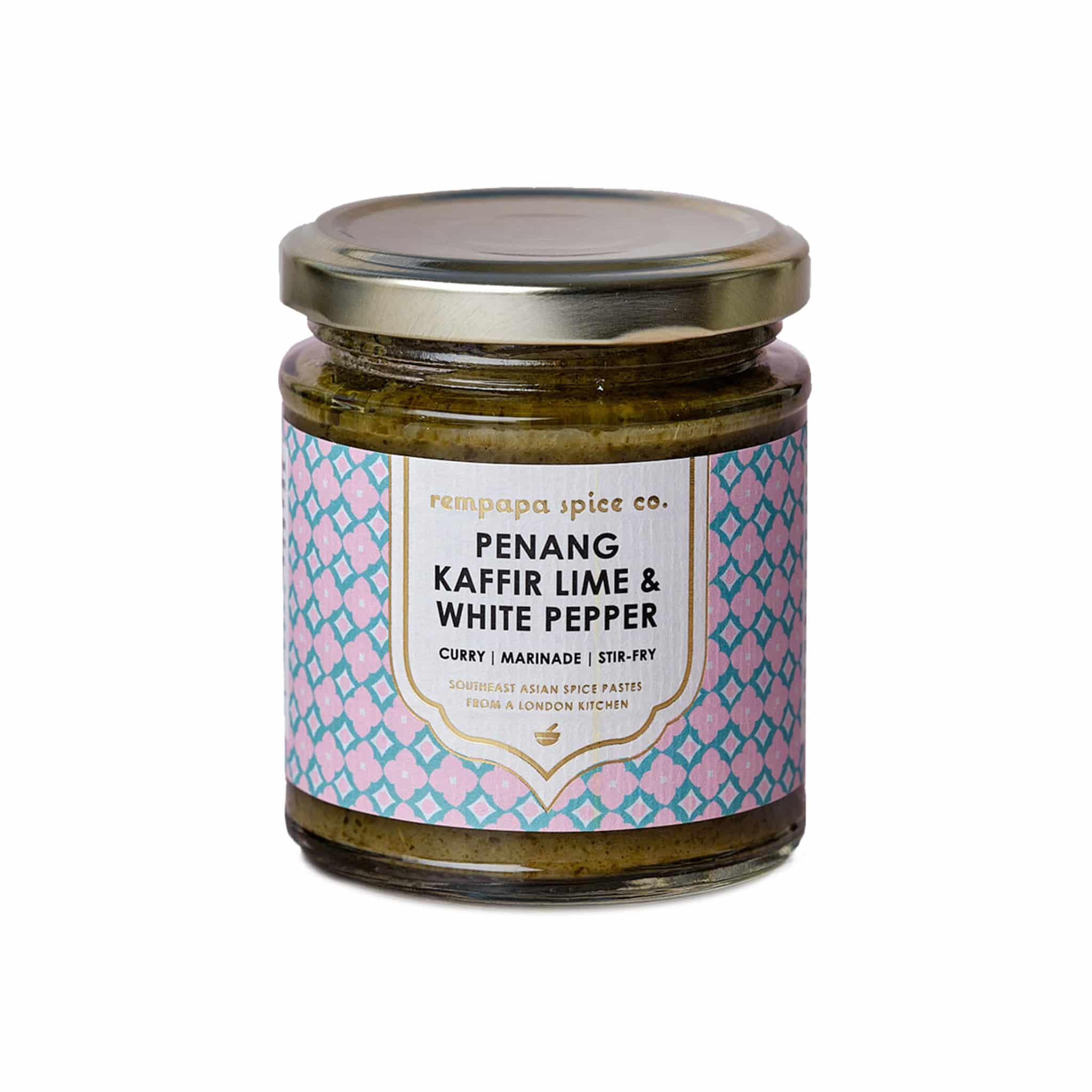 Rempapa Penang Kaffir Lime & White Pepper Spice Paste 180g
