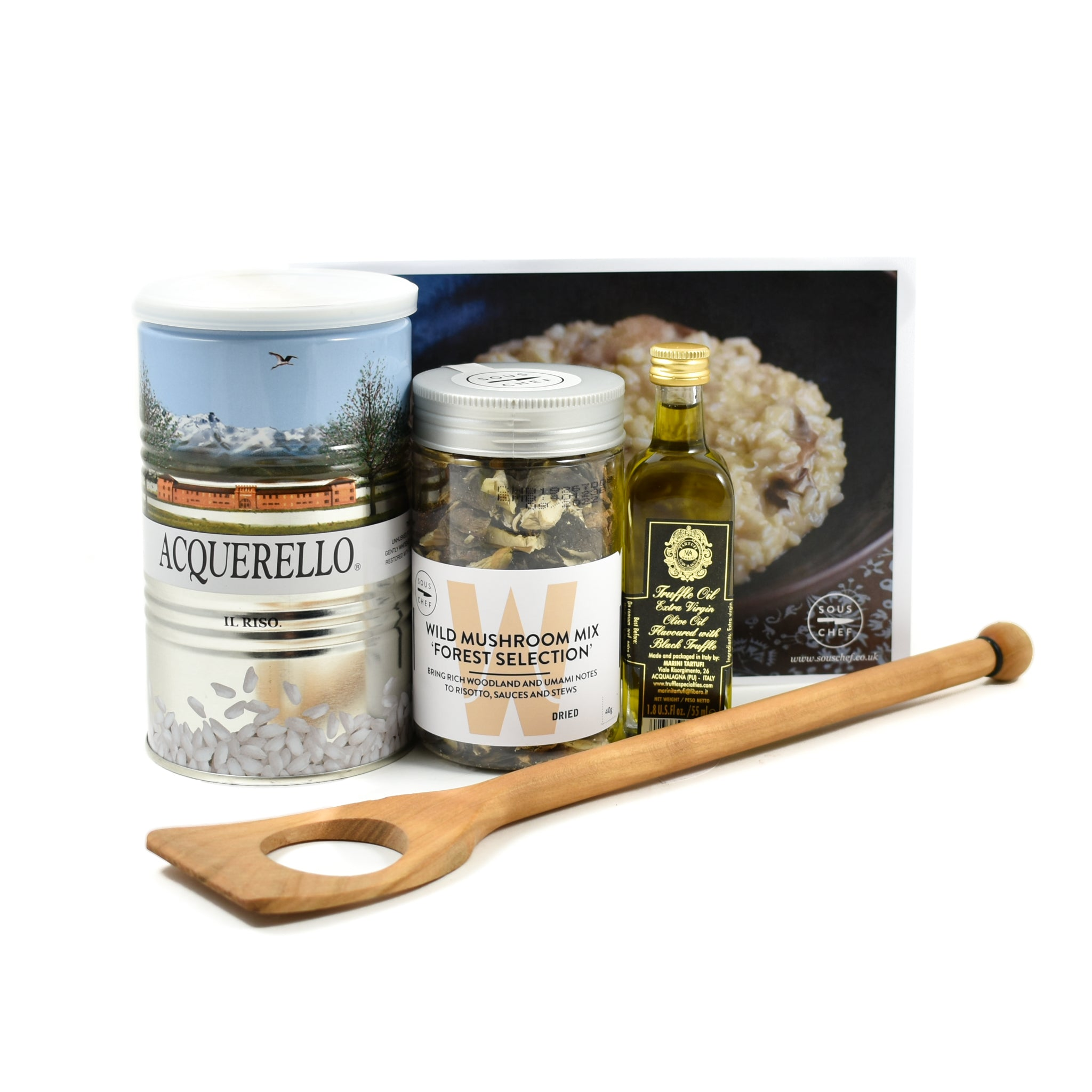 Sous Chef Kit Deluxe Truffled Risotto Kit Gifts Truffles