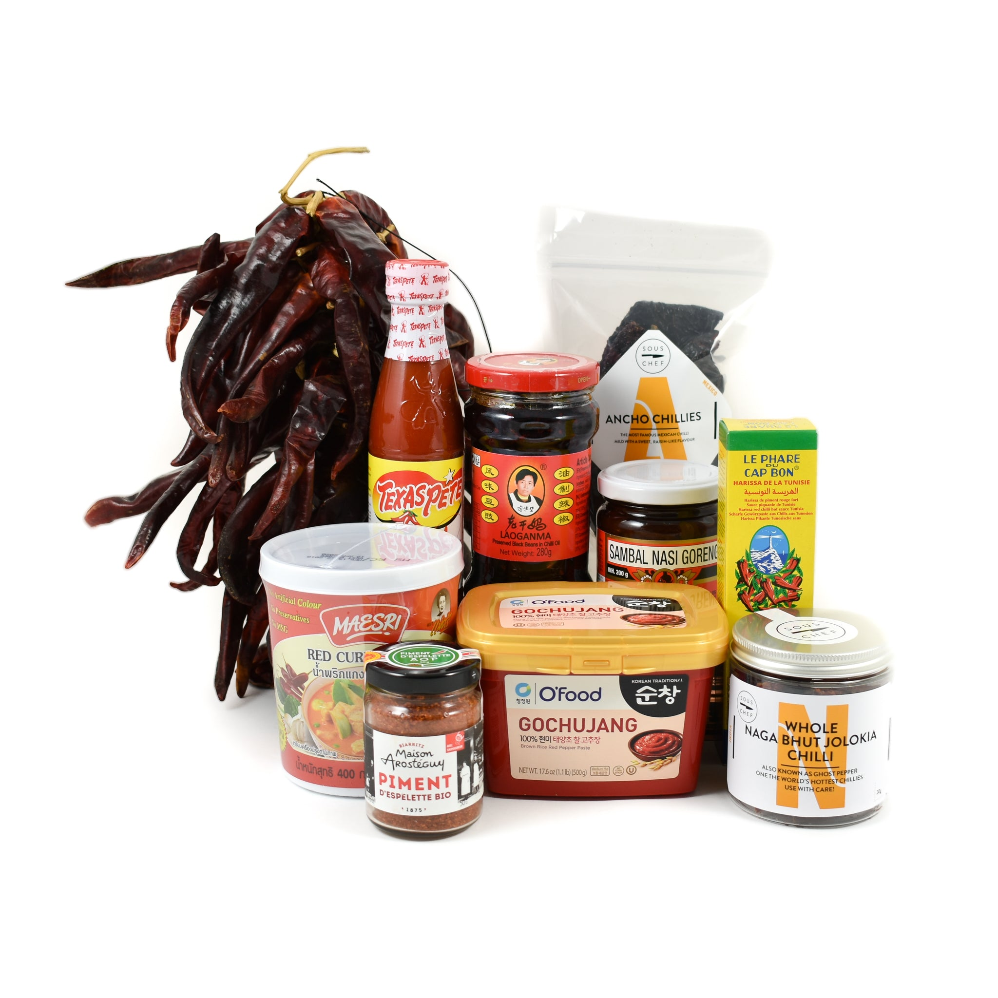 Sous Chef Kit Round The World Chilli Tour Gifts Hampers & Gift Sets