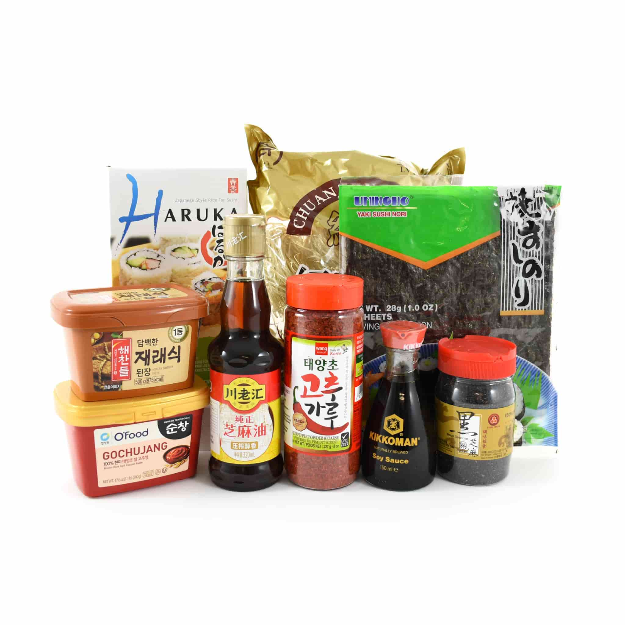 Korean Ingredients Set